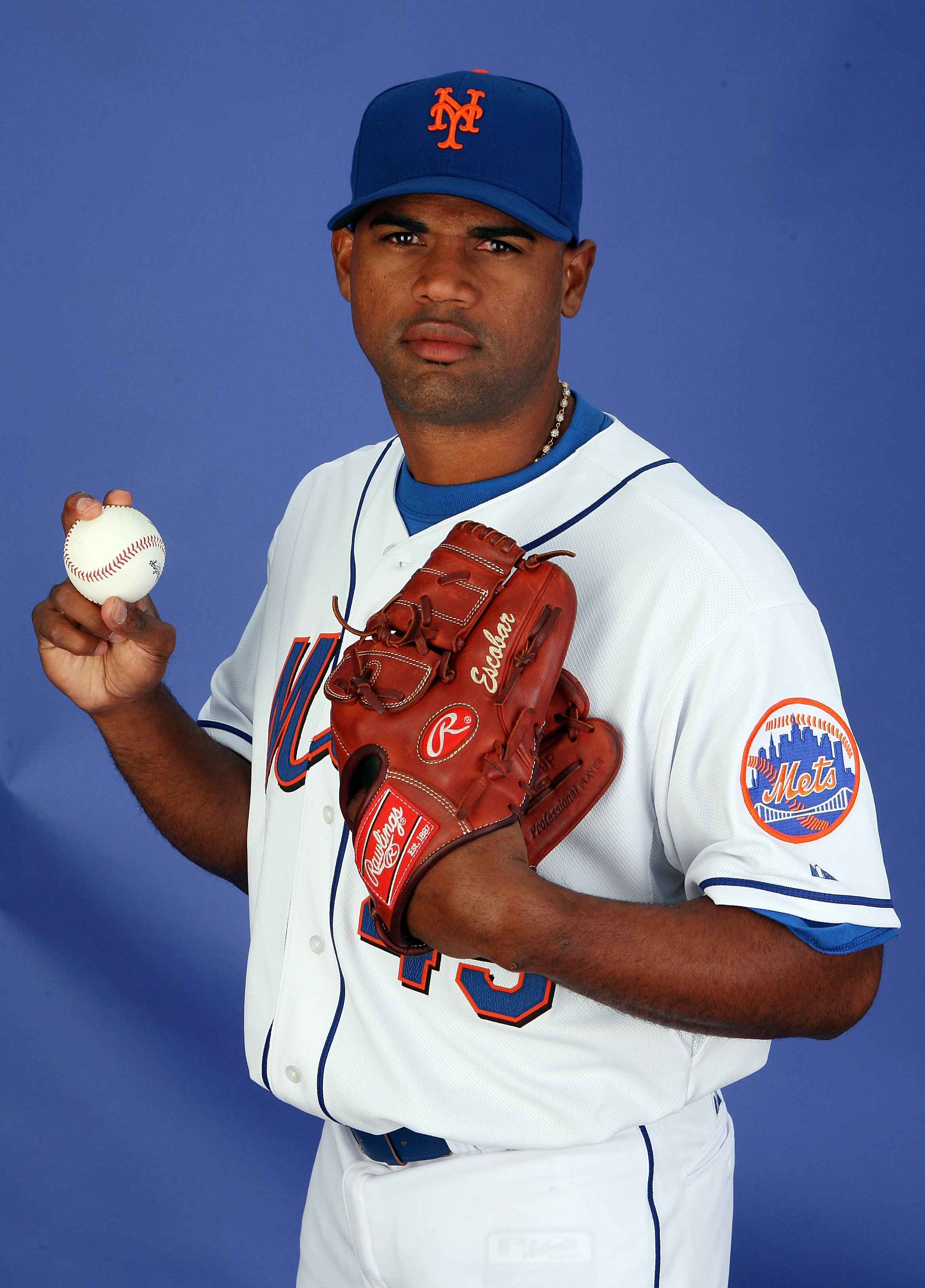 Kelvim Escobar's lone appearance in Met uniform