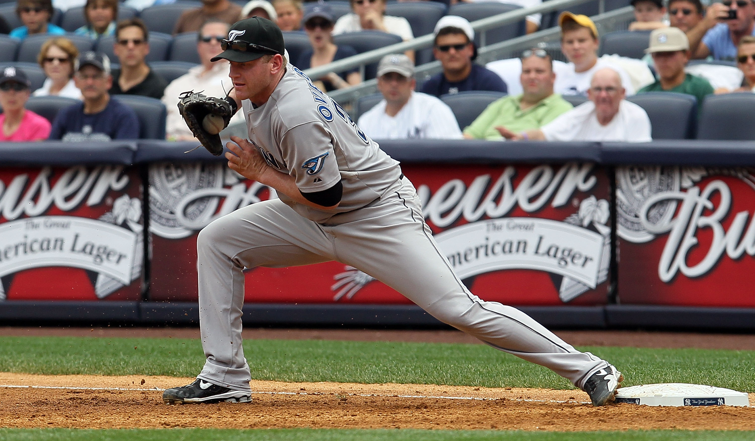 1B Lyle Overbay, picked up off free agency in December 2010