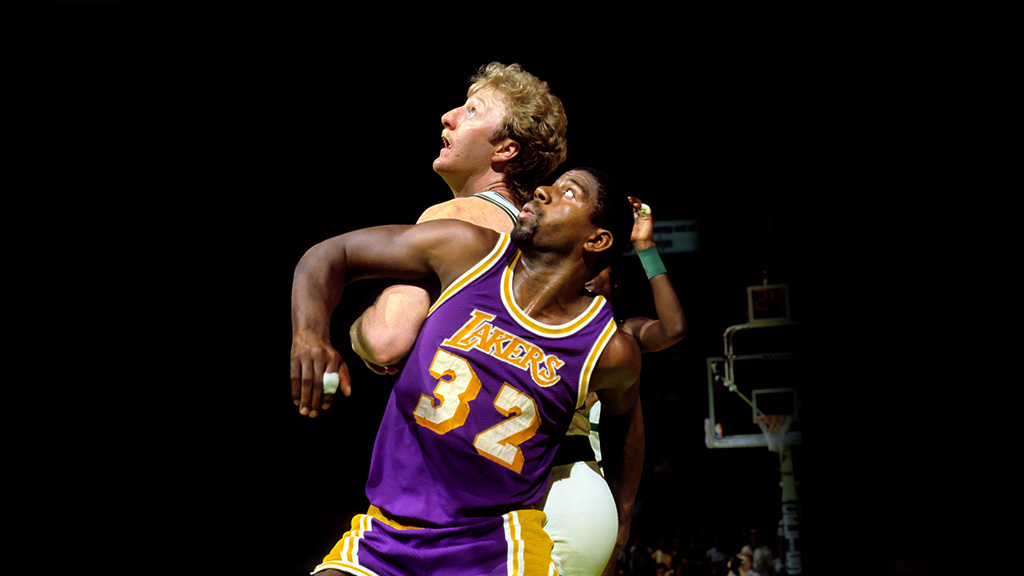 premium selection d11f8 bf523 Larry Bird and the Los Angeles Lakers' 20 Worst Enemies in ...