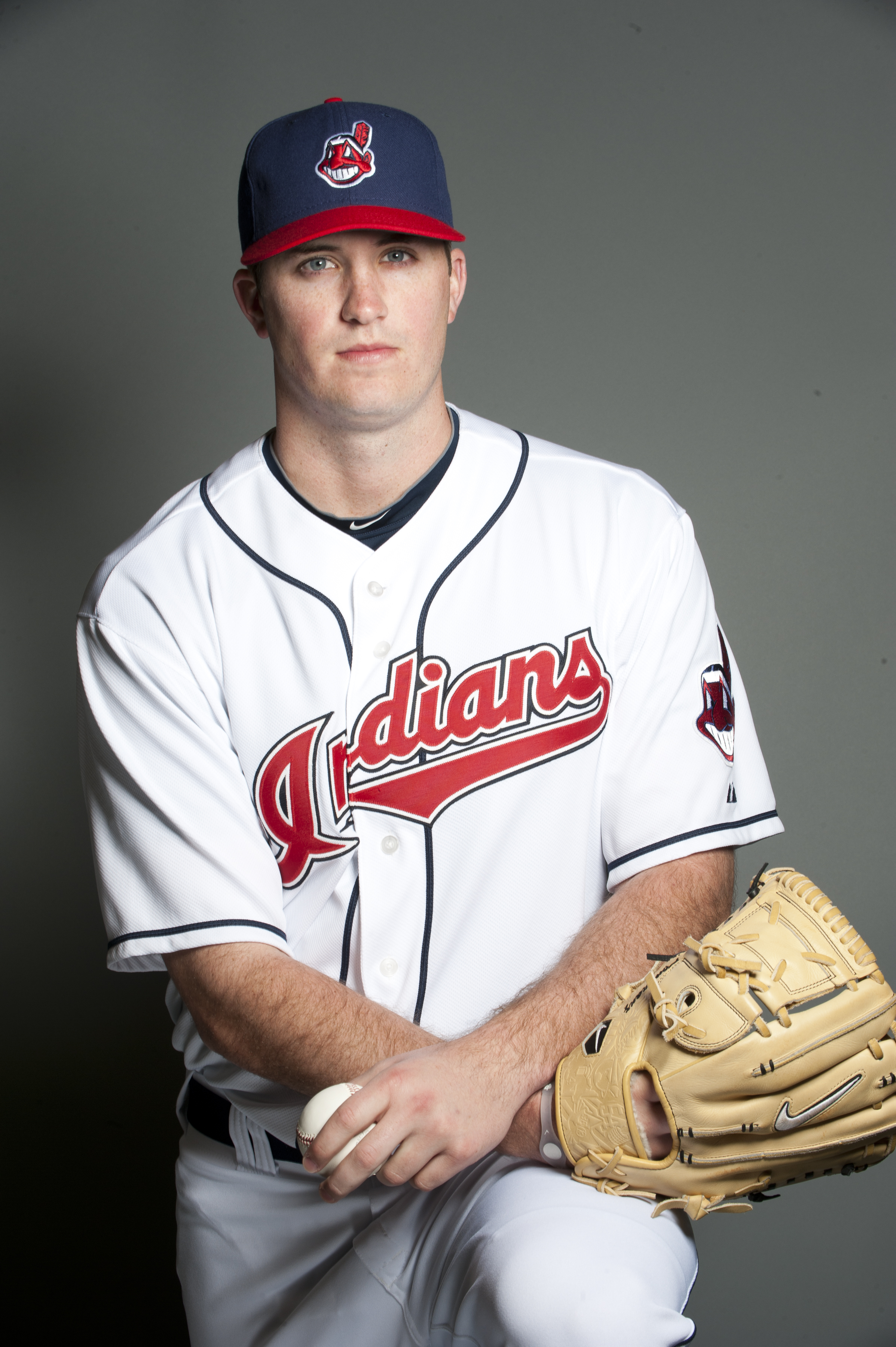 GOODYEAR, AZ - FEBRUARY 22: Drew Pomeranz #78 of the Cleveland Indians poses during their photo day at the Cleveland Indians Spring Training Complex on February 22, 2011 in Goodyear, Arizona. (Photo by Rob Tringali/Getty Images)
