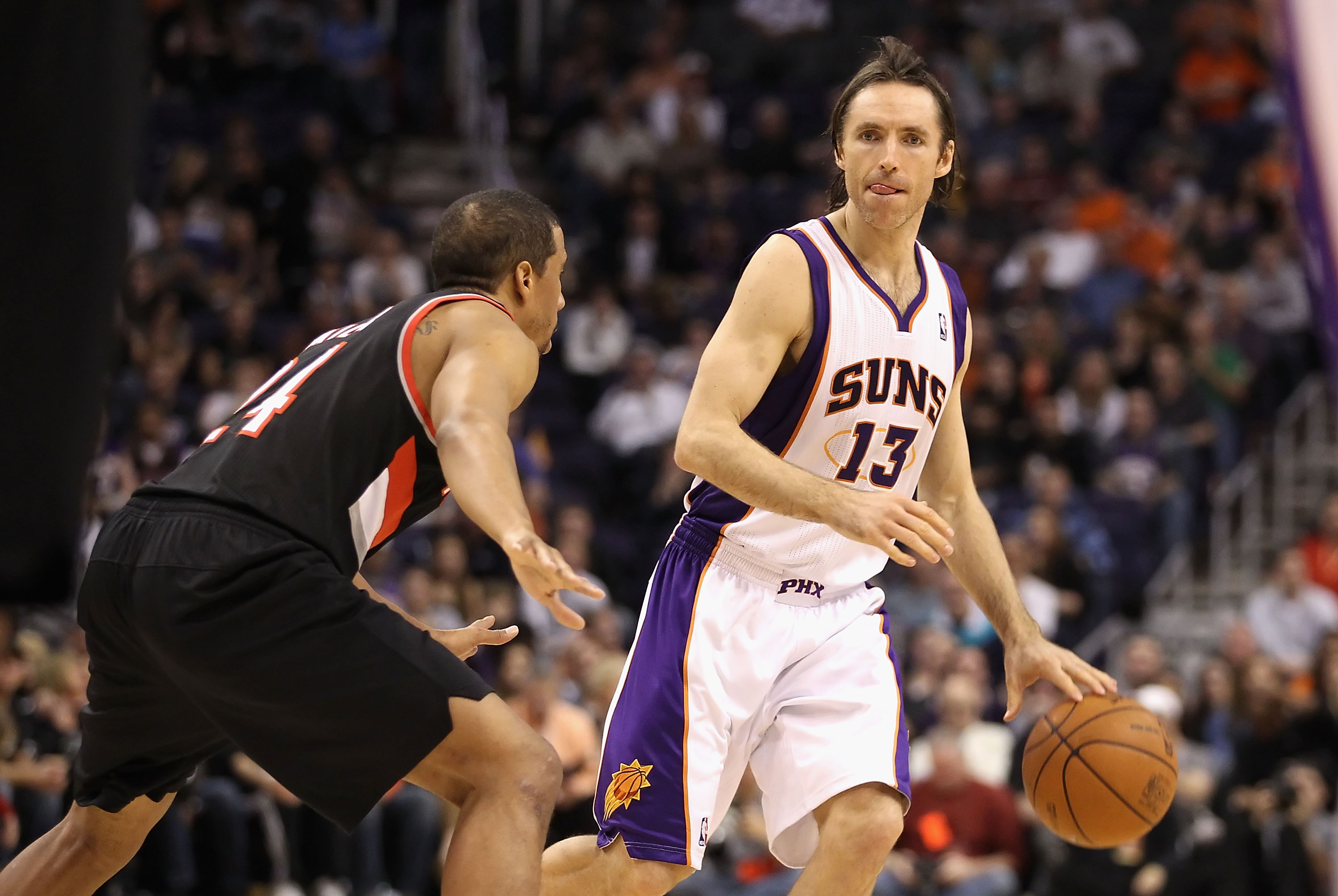 Steve Nash still orchestrates the offense like no others in the NBA