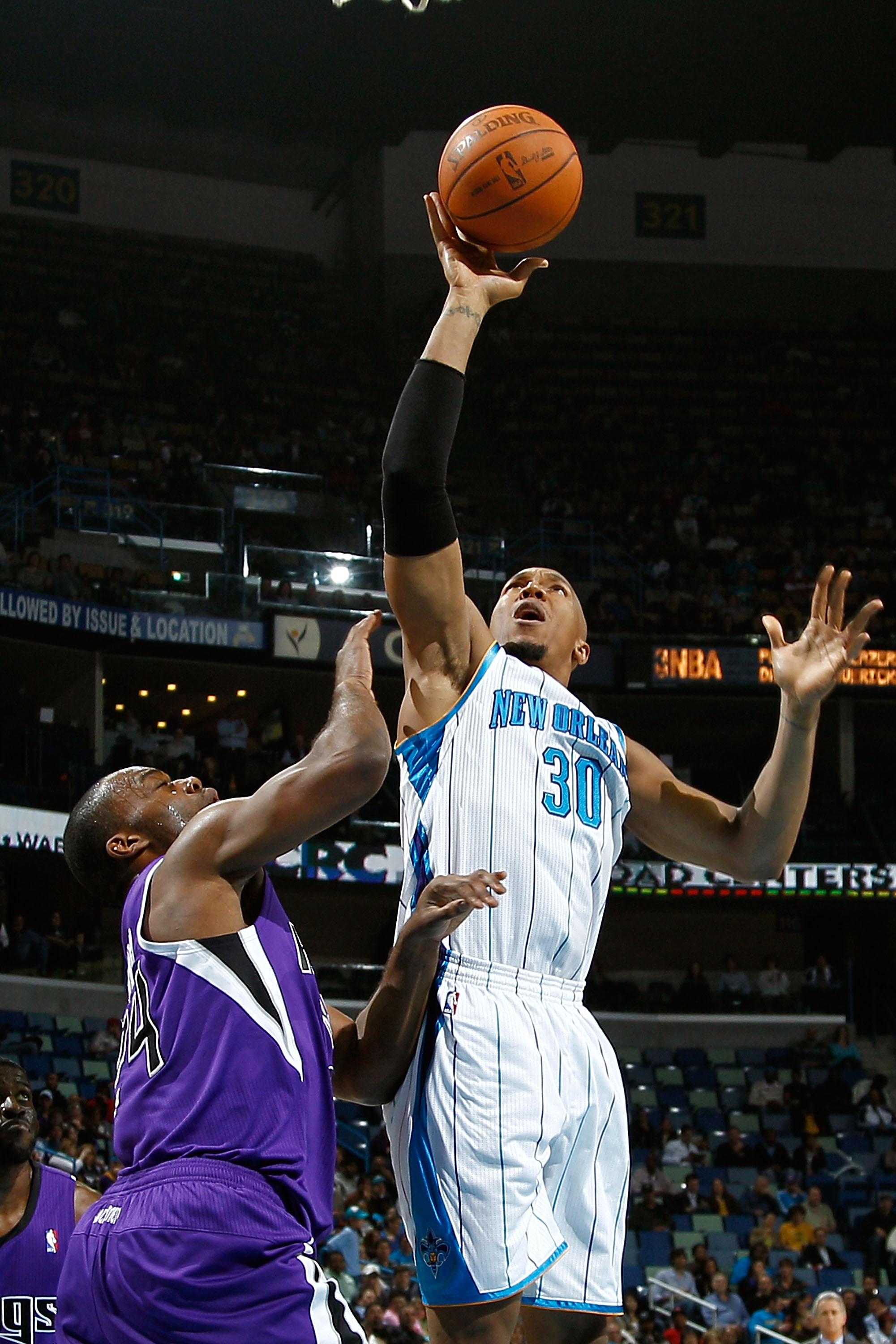 David West has bounced back for the new look Hornets