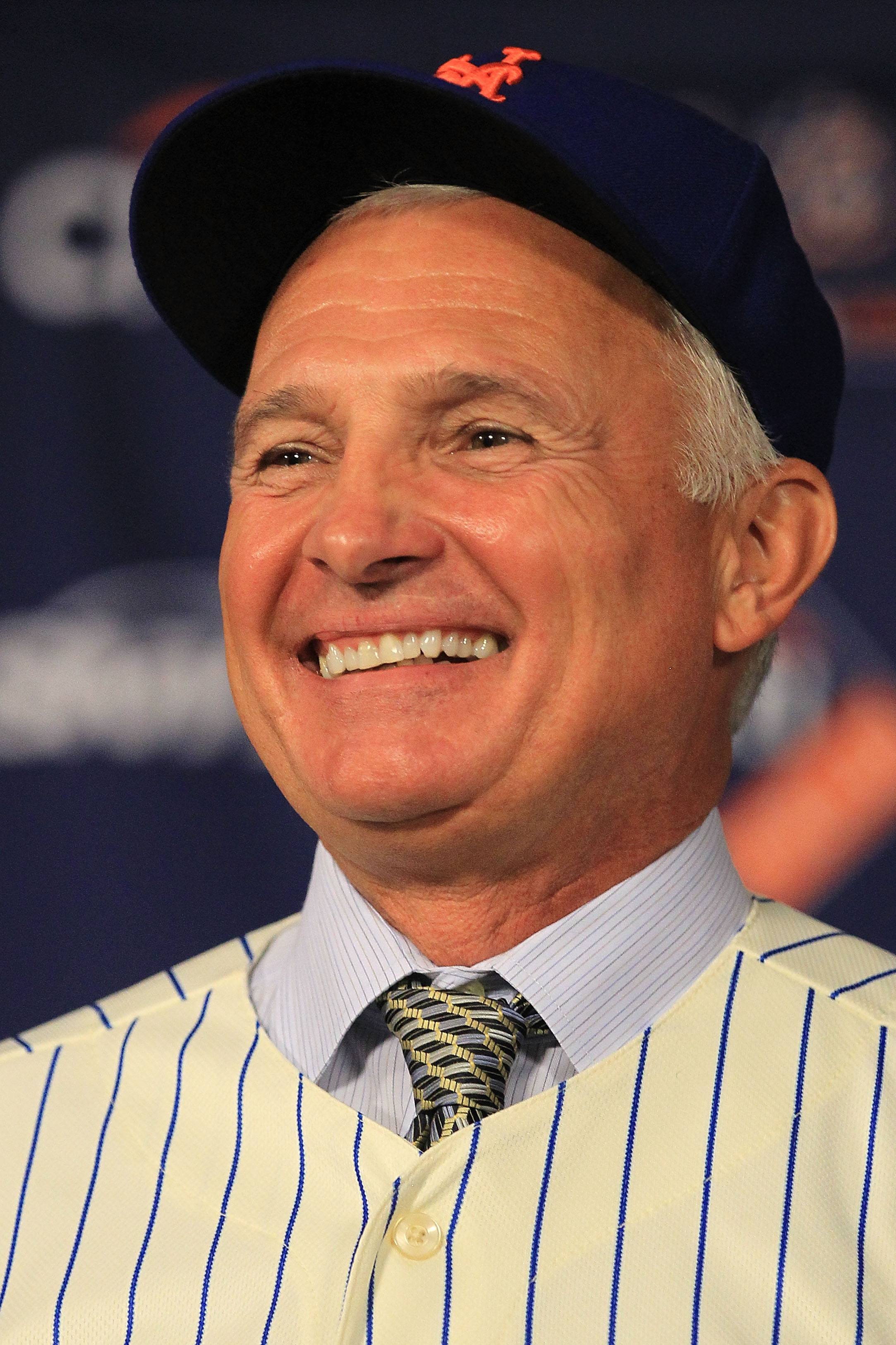NEW YORK - NOVEMBER 23:  New York Mets new manager Terry Collins speaks to the media during a press conference  at Citi Field on November 23, 2010 in the Flushing neighborhood, of the Queens borough of New York City.  (Photo by Chris McGrath/Getty Images)