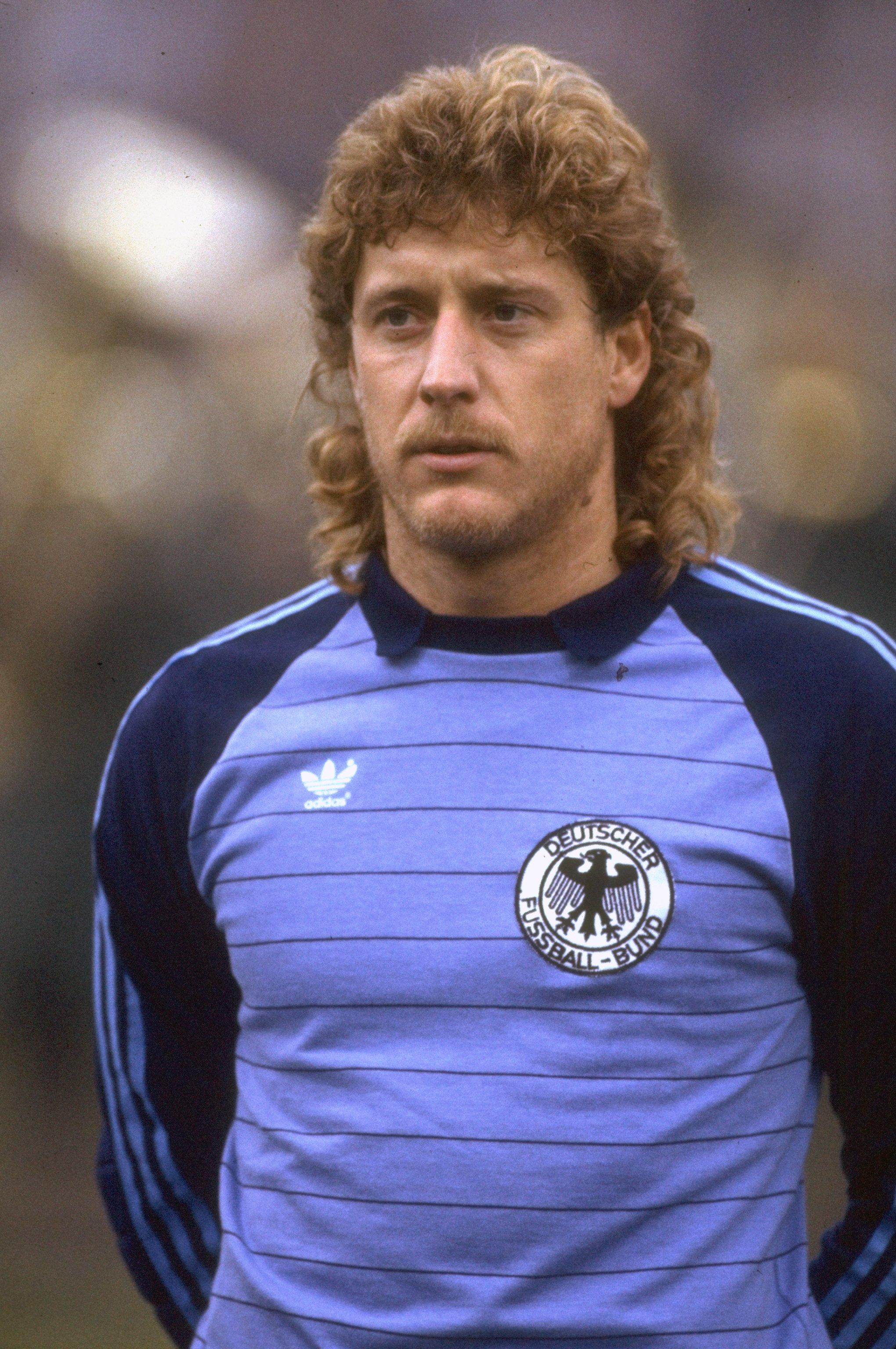 1982:  Portrait of Harald Schumacher of West Germany. \ Mandatory Credit: David Cannon /Allsport