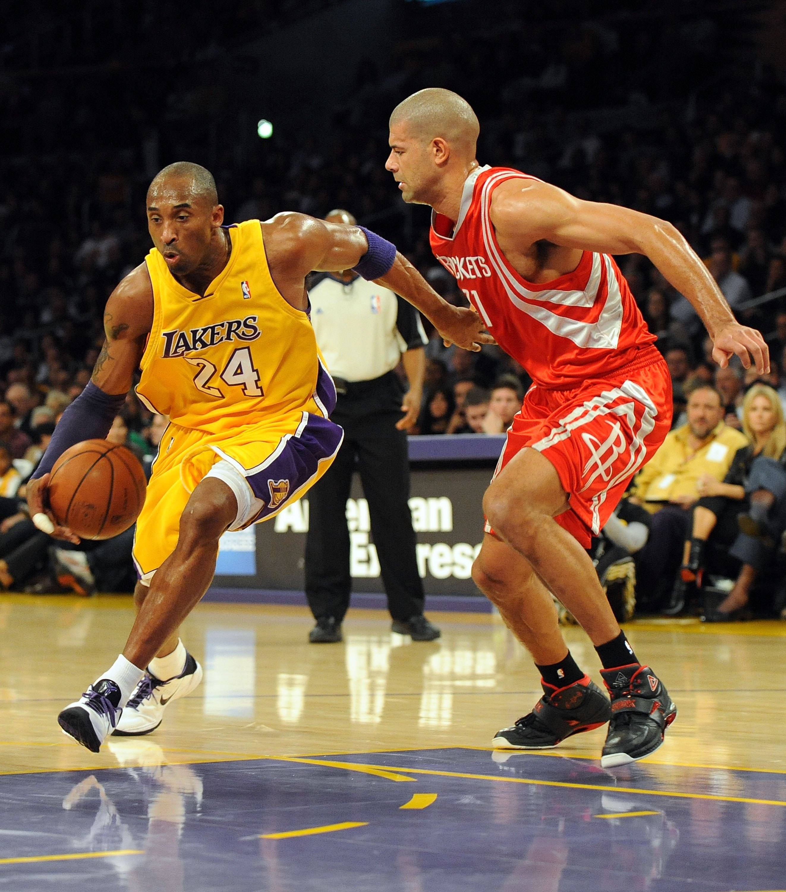 Battier proved in last years playoffs he can guard Kobe Bryant