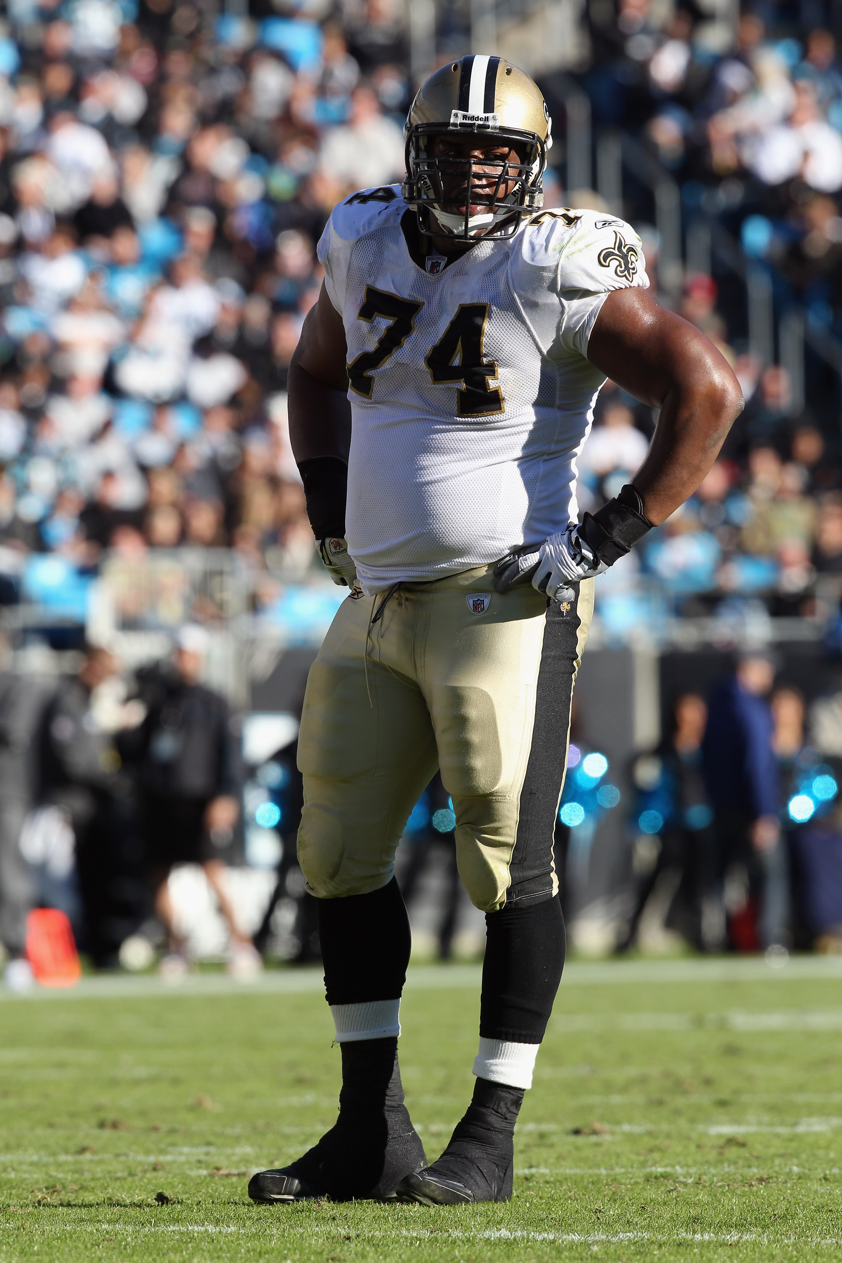 Bushrod struggled at left tackle this season, and might not be a priority for the Saints this offseason.