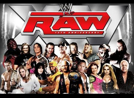 From Kane to Bret Hart, from Triple H to The Undertaker and from Stone Cold to The Rock, Raw was the stage for all those icons of the '90s.