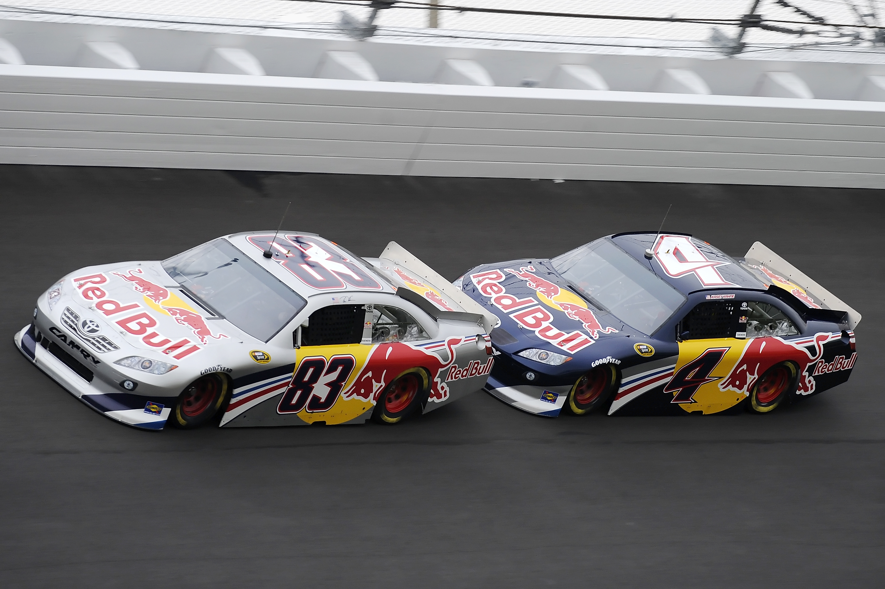 Kasey Kahne looked solid in the Red Bull No.4 during the Daytona test on the new asphalt in January.