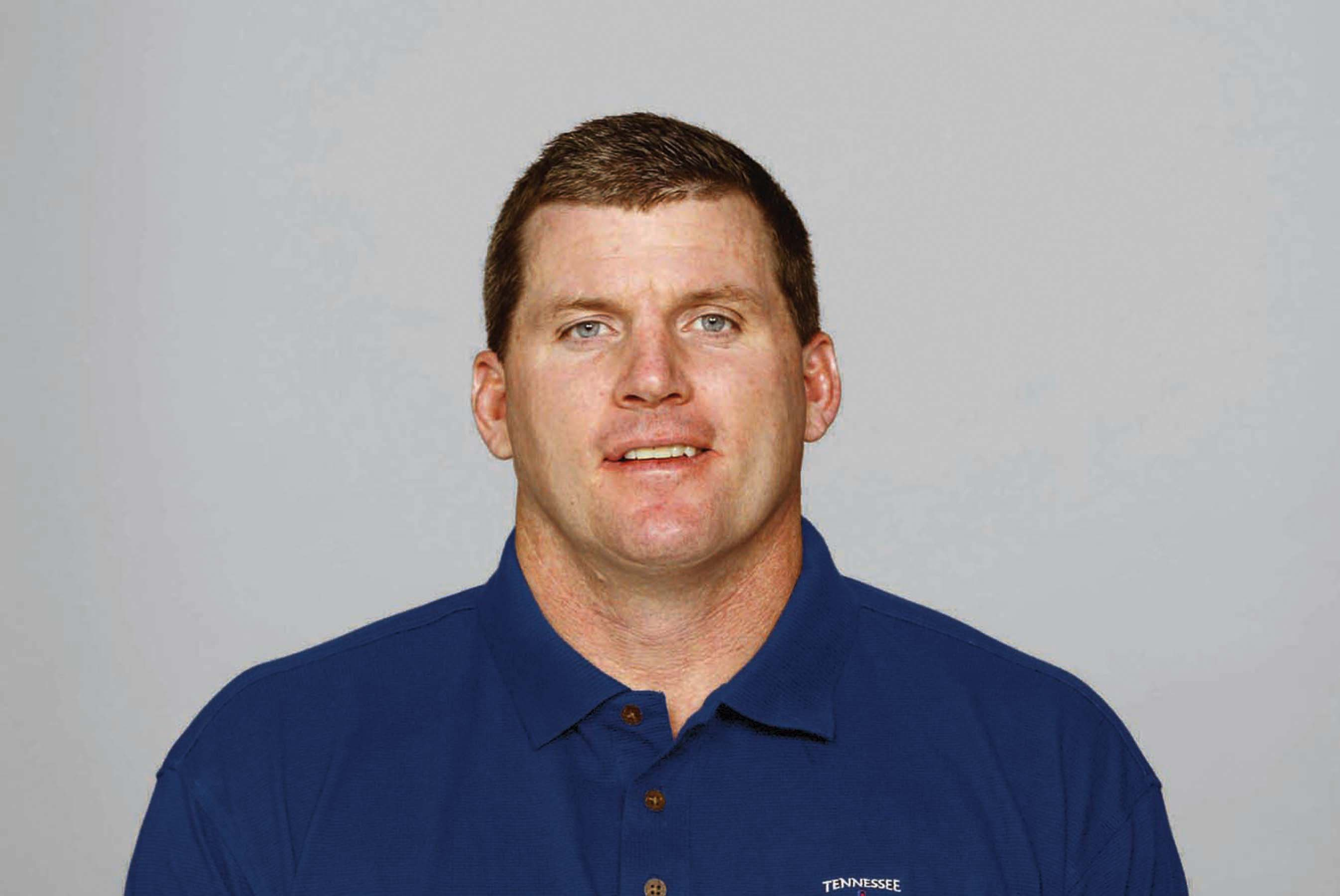 NASHVILLE, TN - 2009:  Mike Munchak of the Tennessee Titans poses for his 2009 NFL headshot at photo day in Nashville, Tennessee.  (Photo by NFL Photos)