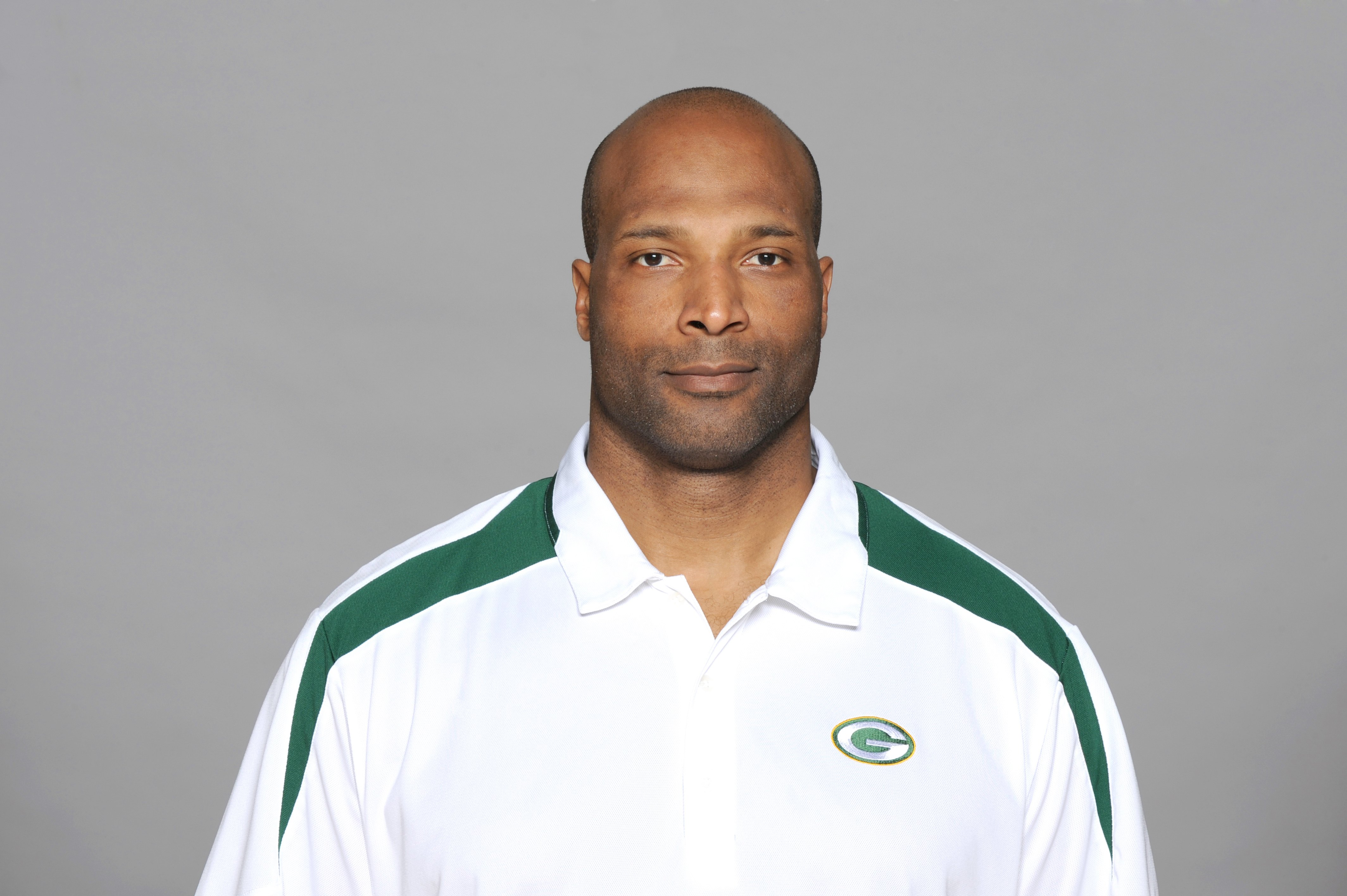 GREEN BAY, WI - 2009:  Winston Moss of the Green Bay Packers poses for his 2009 NFL headshot at photo day in Green Bay, Wisconsin.  (Photo by NFL Photos)