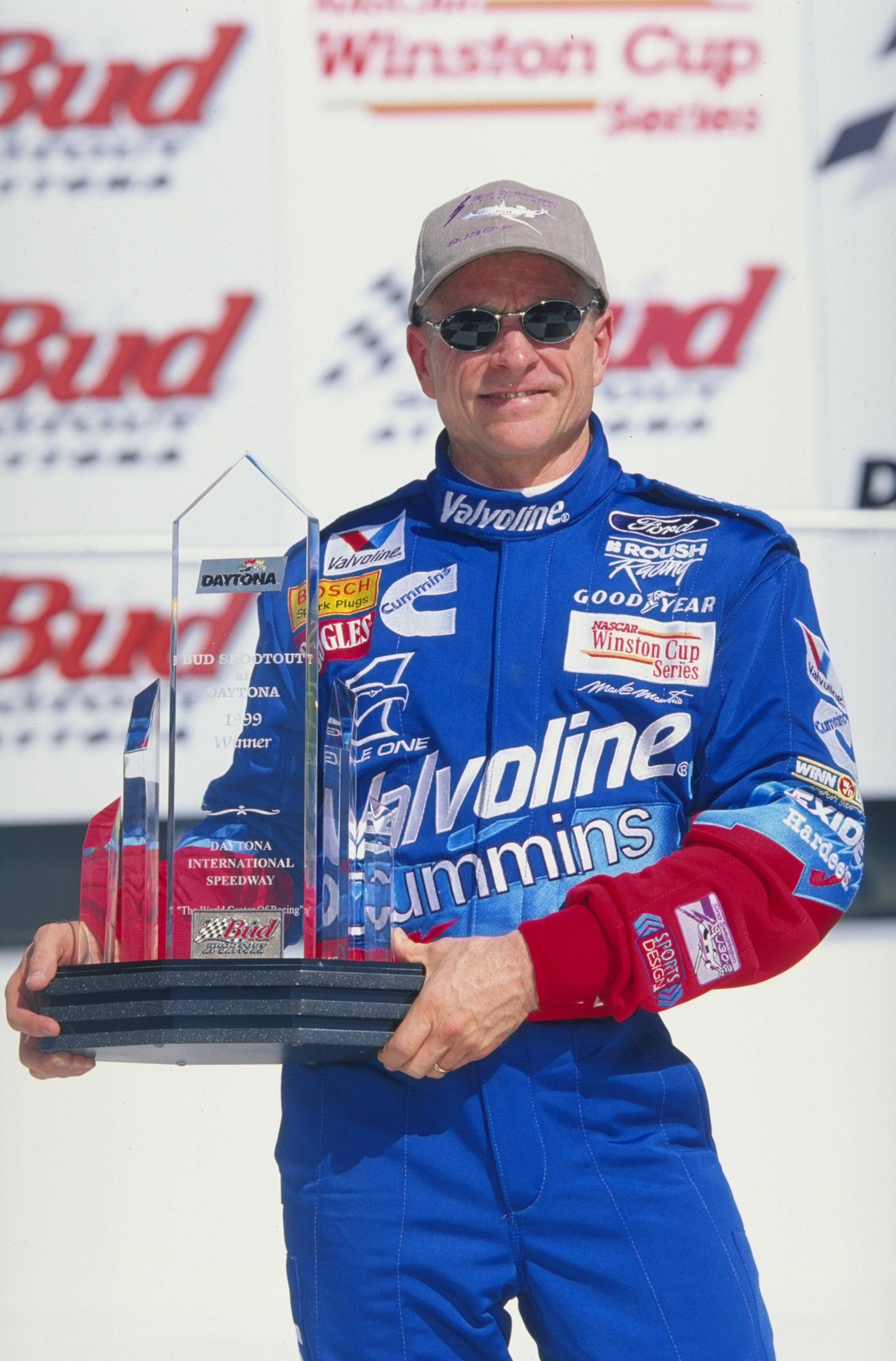 Mark Martin has one Bud Shootout win in 1999.