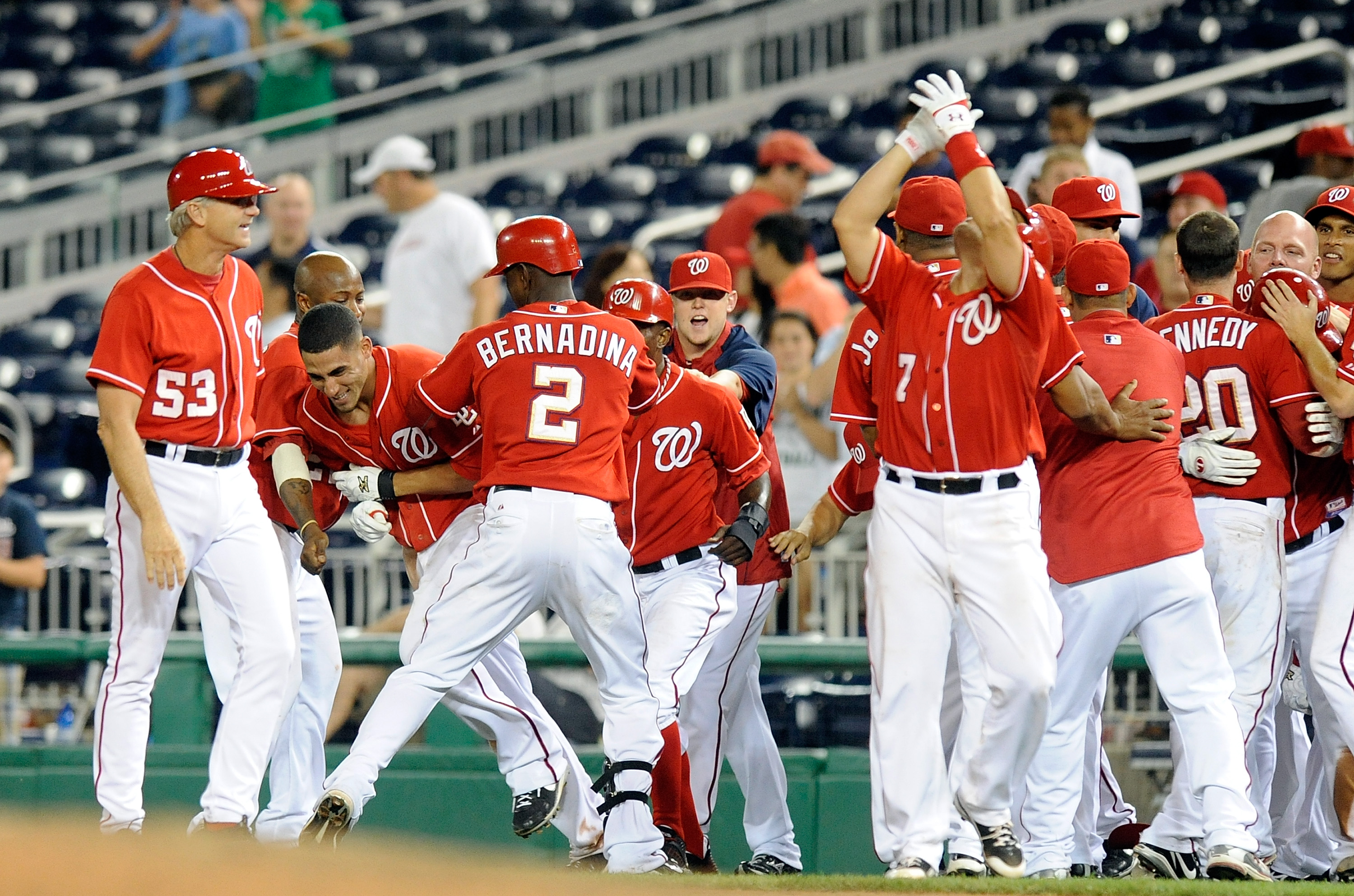 An improved Washington Nationals team should make the NL East a very competitive division in 2011.