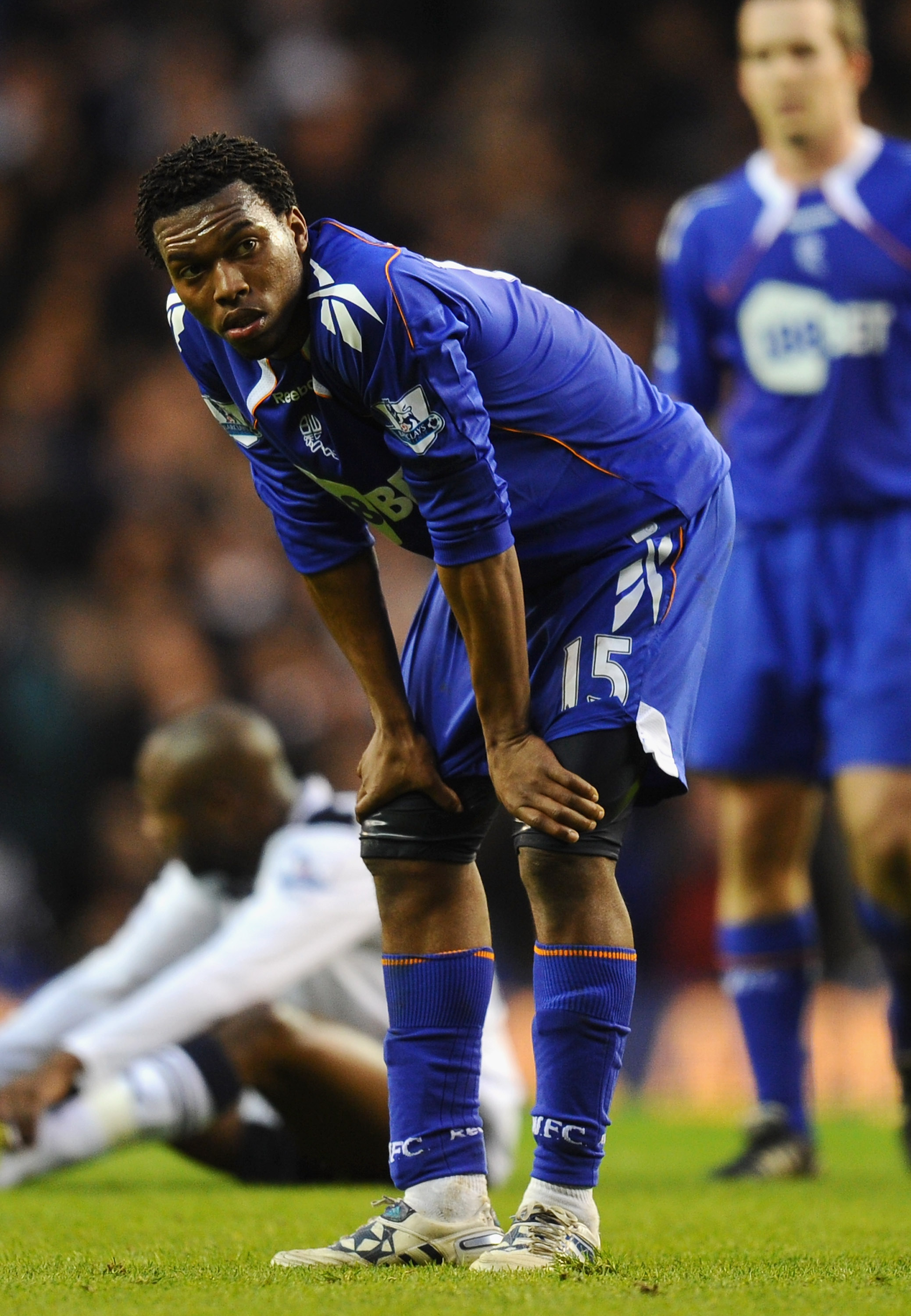 LONDON, ENGLAND - FEBRUARY 05:  Daniel Sturridge of Bolton Wanderers looks dejected after defeat in the Barclays Premier League match between Tottenham Hotspur and Bolton Wanderers at White Hart Lane on February 5, 2011 in London, England.  (Photo by Mike