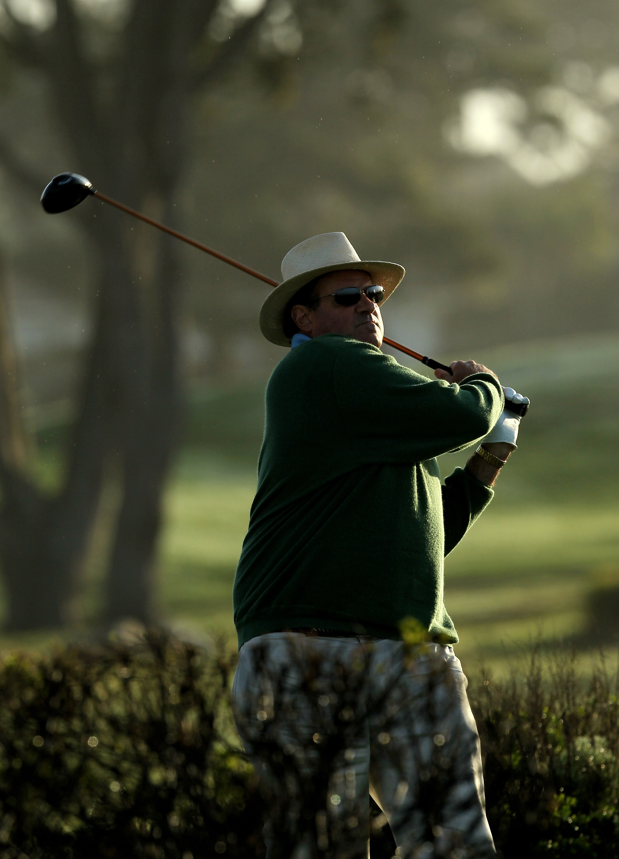 Chris Berman playing in the AT&T Pebble Beach National Pro-Am