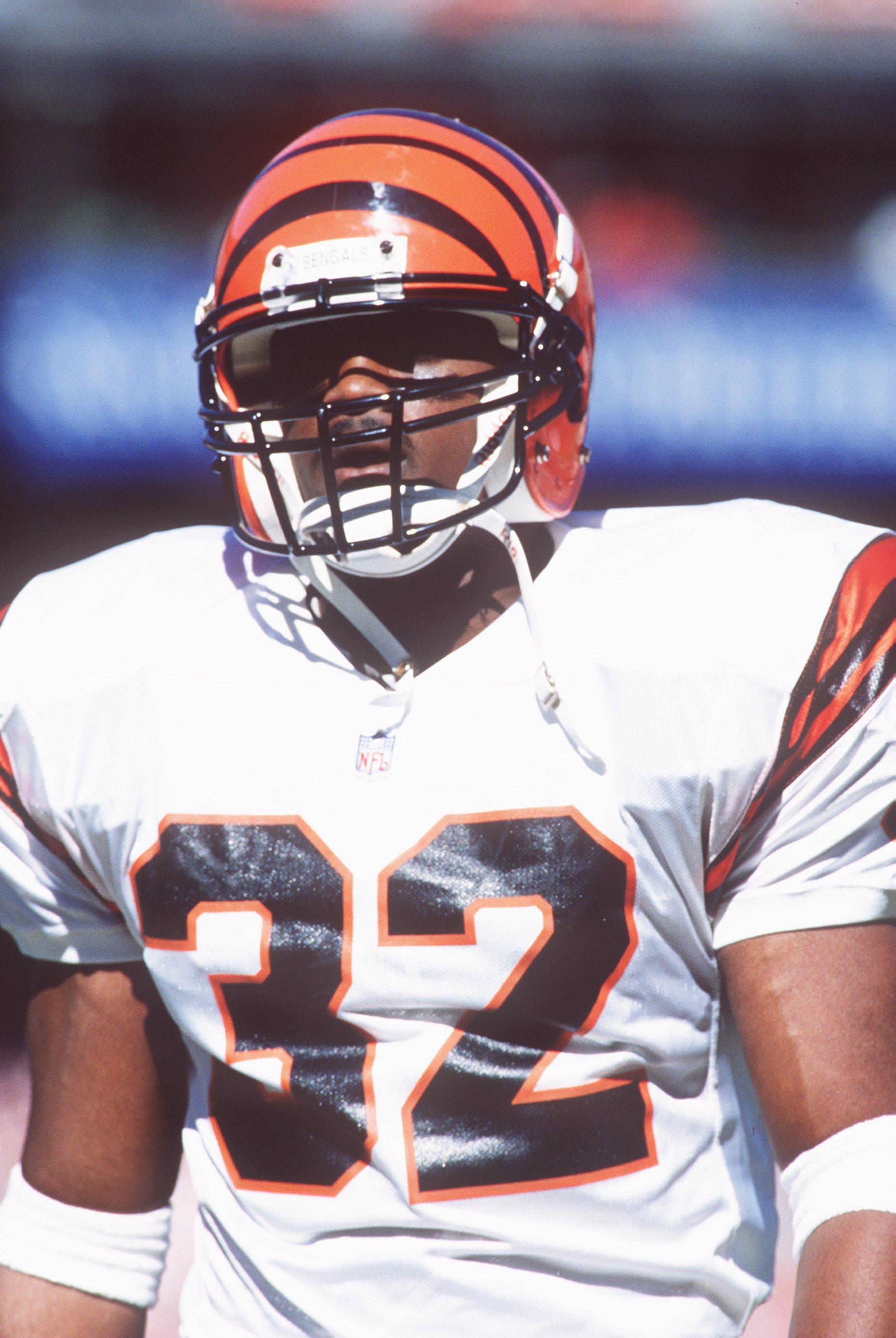20 Oct 1996:  Running back Ki-Jana Carter of the Cincinnati Bengals during the Bengals 28-21 loss to the San Francisco 49ers at 3Com Park in San Francisco, California. Mandatory Credit: Otto Greule/ALLSPORT