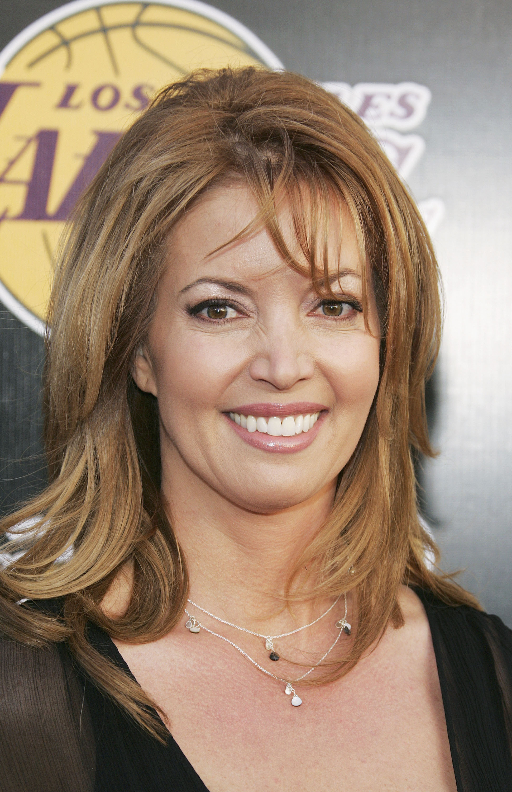 SANTA MONICA, CA - APRIL 14:  Los Angeles Lakers executive Jeanie Buss attends the 2nd Annual Las Vegas Casino Night Celebrity Poker Challenge on April 14, 2005 in Santa Monica, California. The event Benefits the Los Angeles Lakers Youth Foundation. (Phot