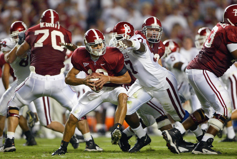 Alabama Crimson Tide-Oklahoma Sooners Football: Through ...