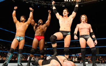 Wade Barrett will be WWE Champion, Gabriel and Slater= Tag Champs, and Ezekiel= Intercontinental Champ