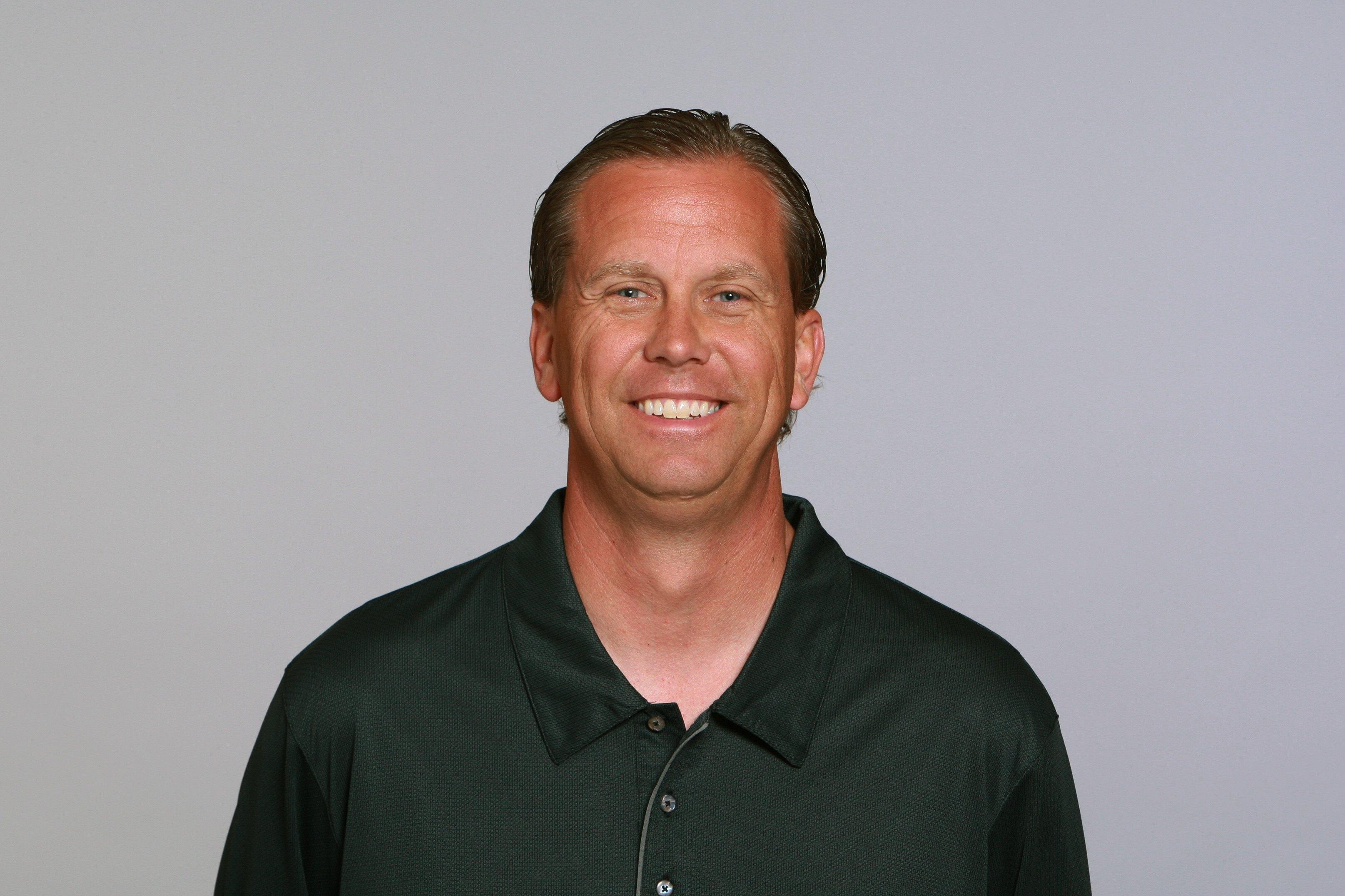 JACKSONVILLE, FL - 2009:  Todd Monken of the Jacksonville Jaguars poses for his 2009 NFL headshot at photo day in Jacksonville, Florida.  (Photo by NFL Photos)
