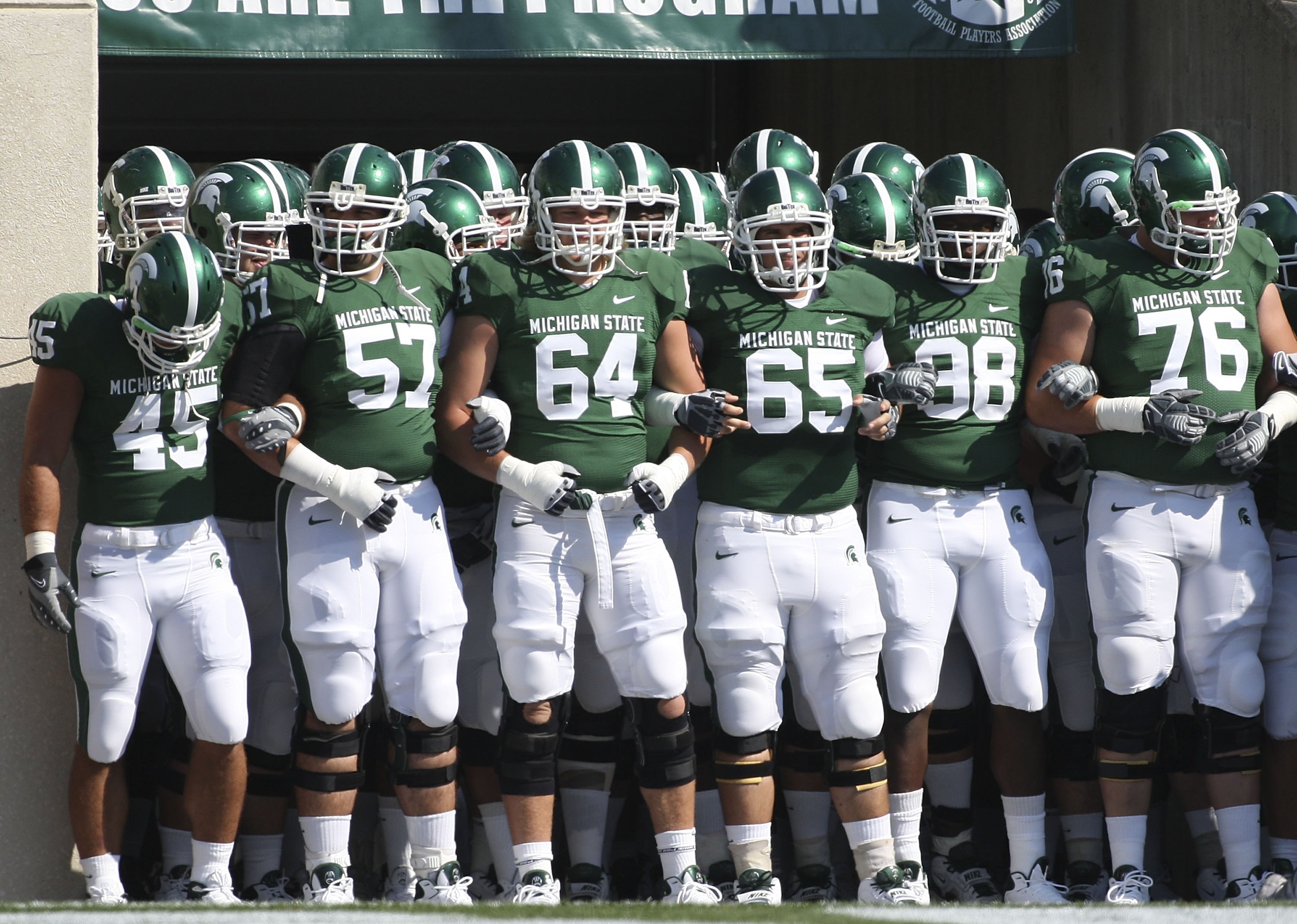 Michigan State Spartans Football 2011 Schedule Game By Game