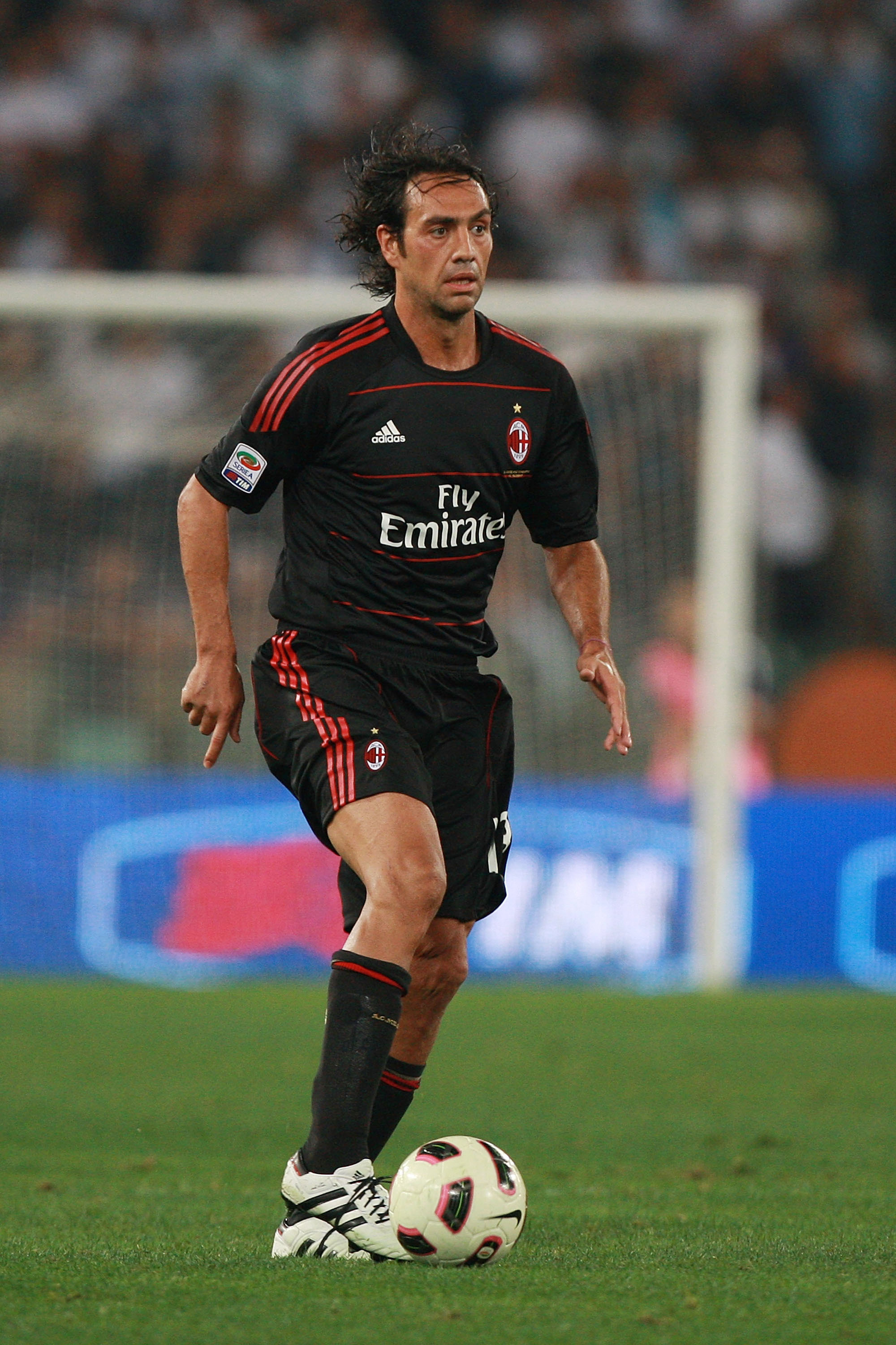 ROME - SEPTEMBER 22:  Alesandro Nesta of AC Milan in action during the Serie A match between SS Lazio and AC Milan at Stadio Olimpico on September 22, 2010 in Rome, Italy.  (Photo by Paolo Bruno/Getty Images)