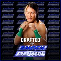 Yoshi Tatsu drafted to SmackDown