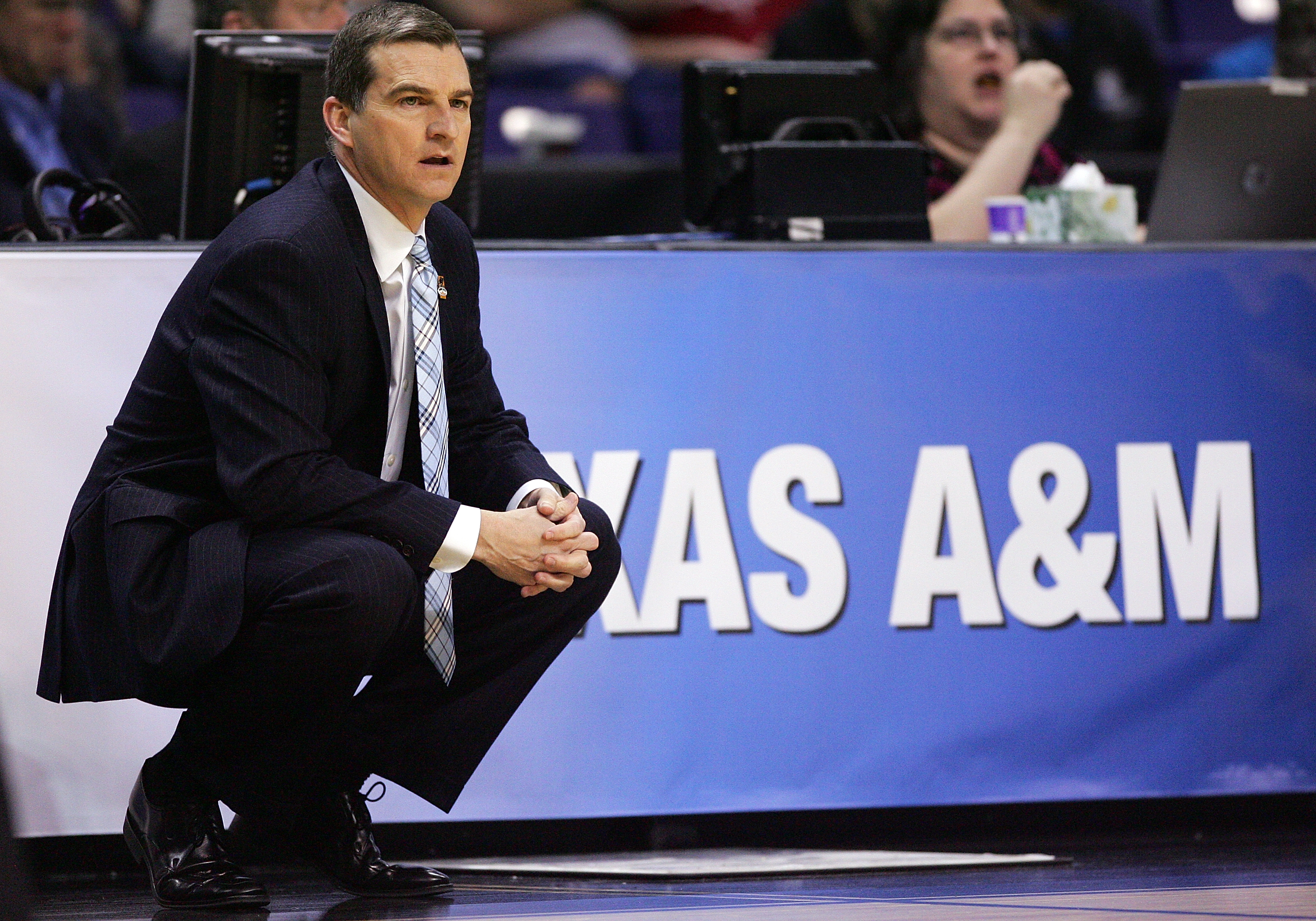 A&M matches the intensity of their coach, Mark Turgeon.