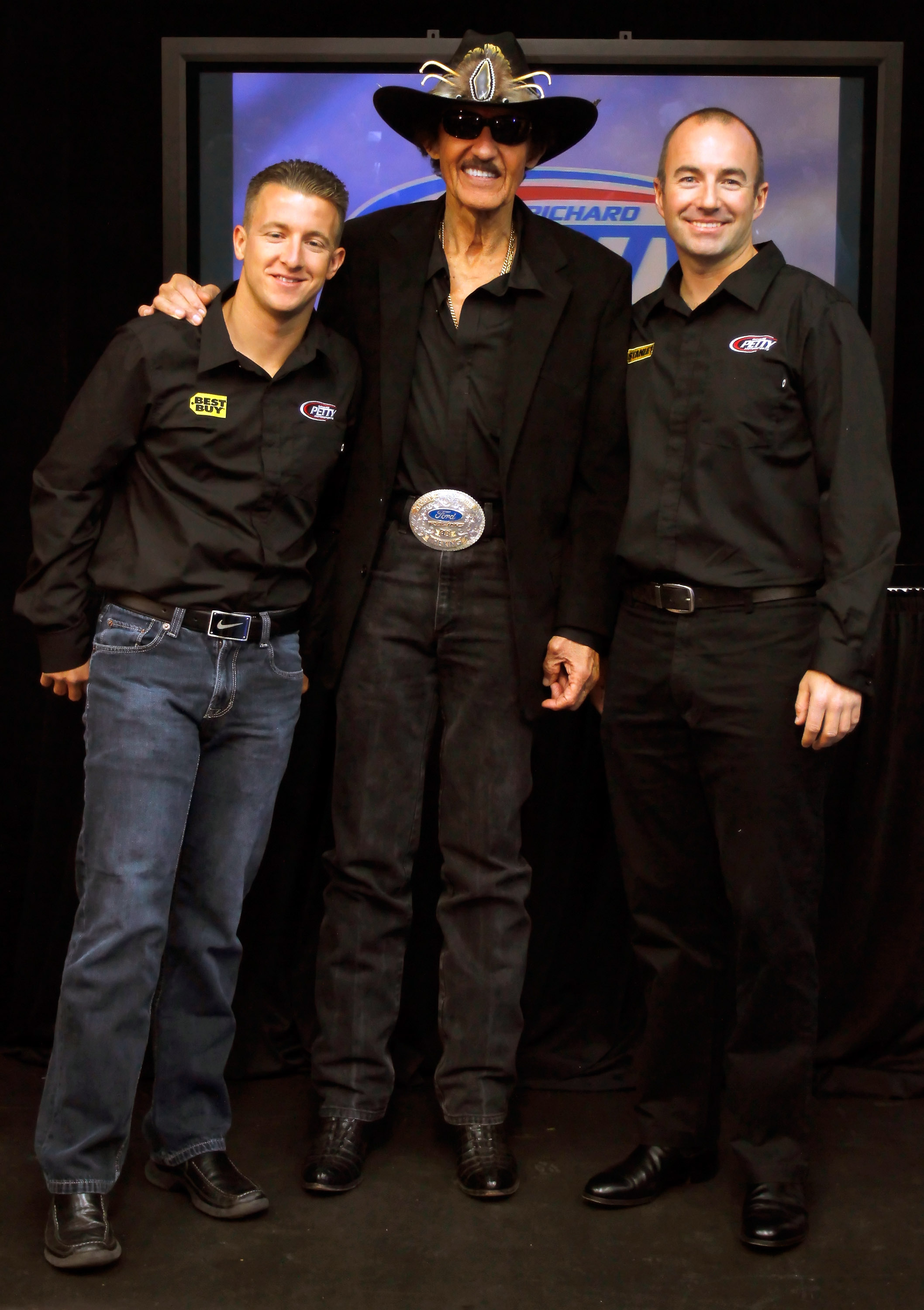 Marcos Ambrose joins Richard Petty and AJ Allmendinger for the 2011 season.