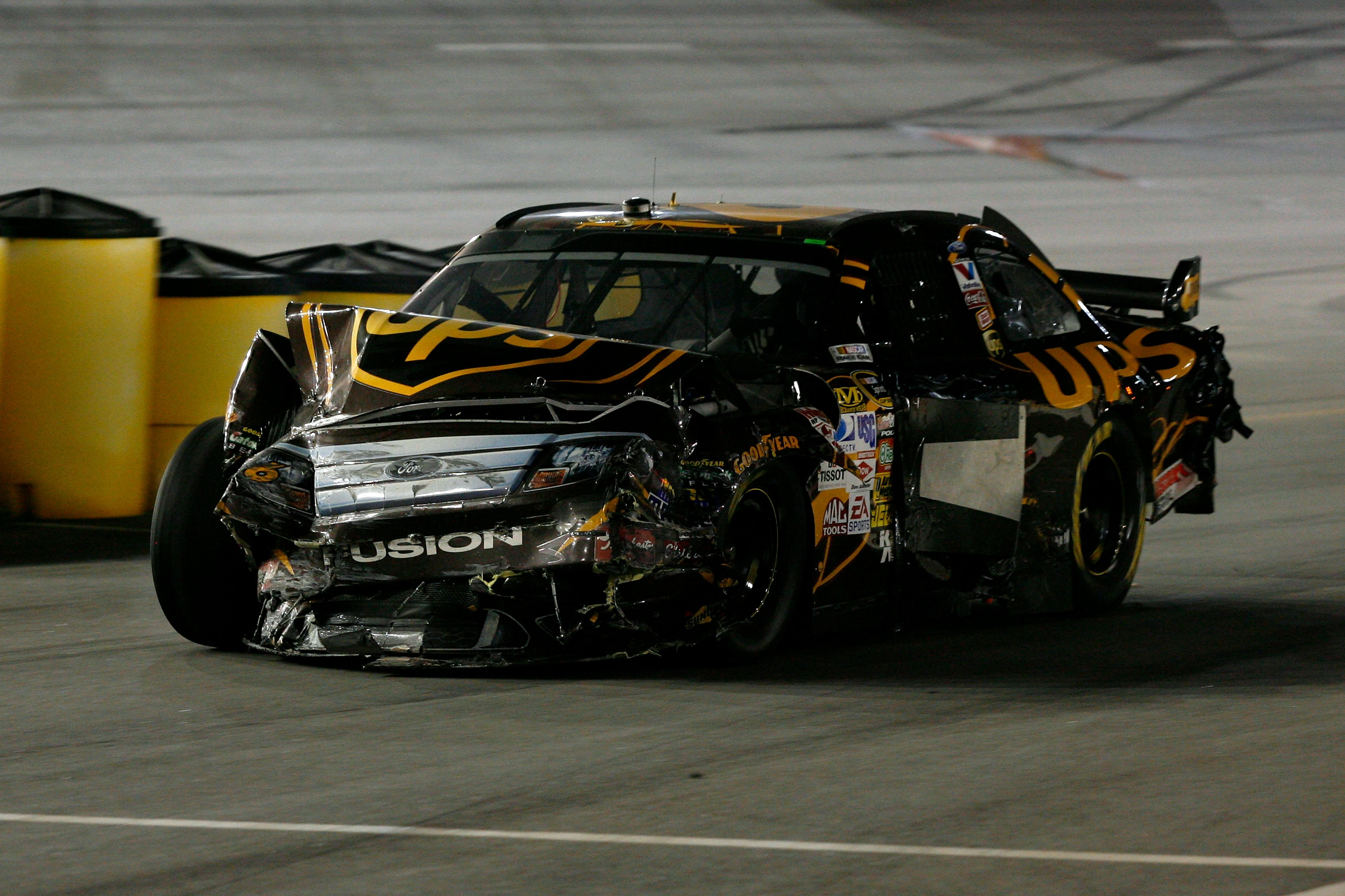 David Ragan runs well on superspeedways but he is a magnet for crashes on the big track.
