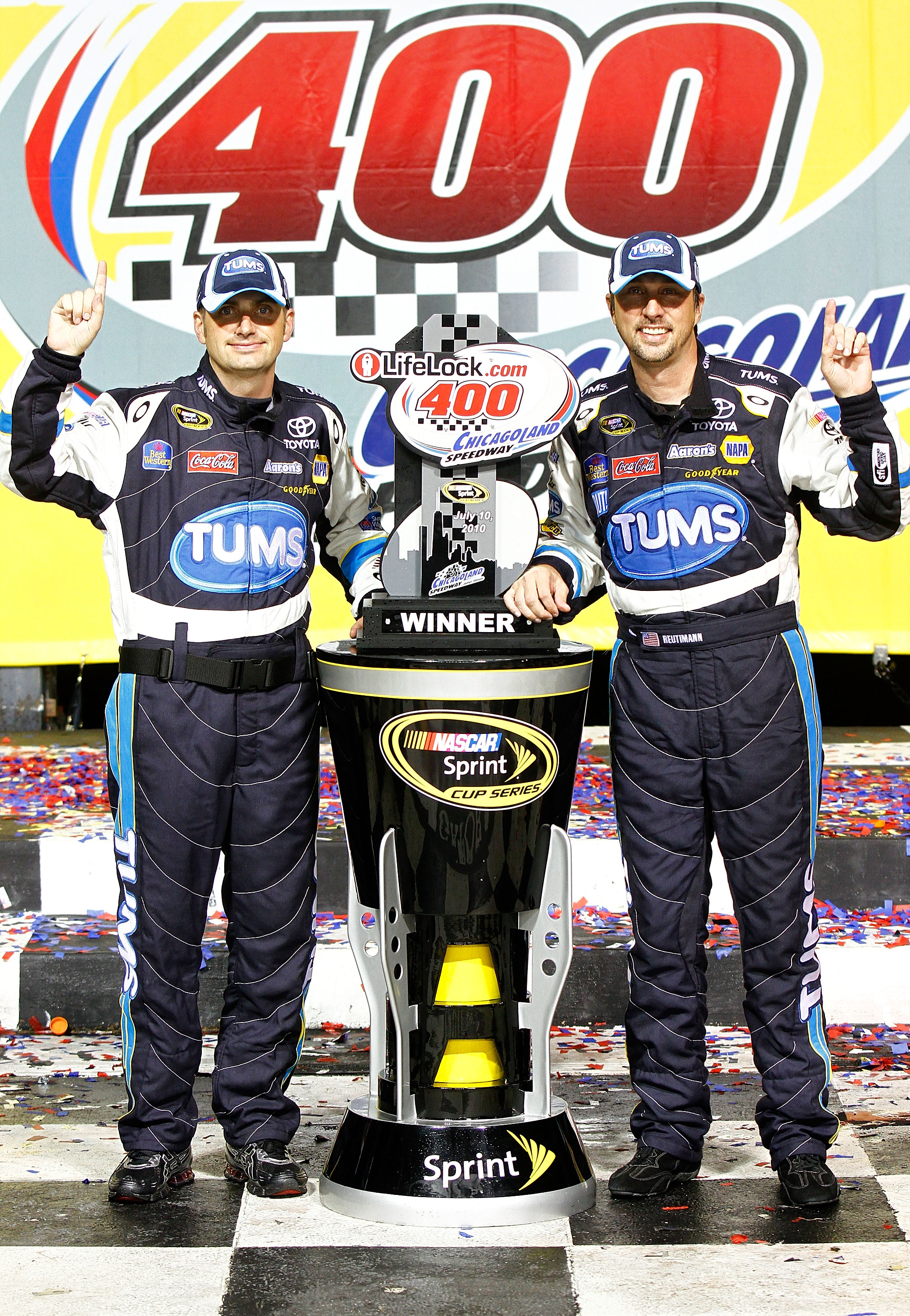 David Reutimann has two career wins but he has good stuff with MWR.
