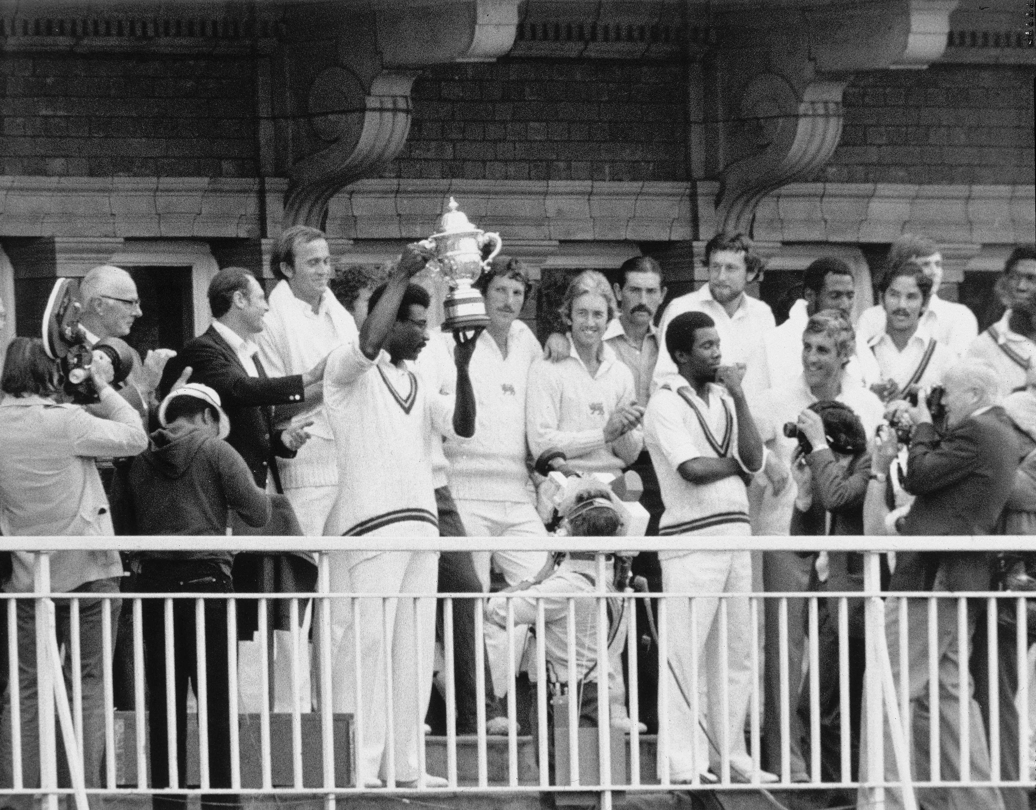 Clive Lloyd holds the World Cup aloft, but this game contained five great who failed in every final they played in