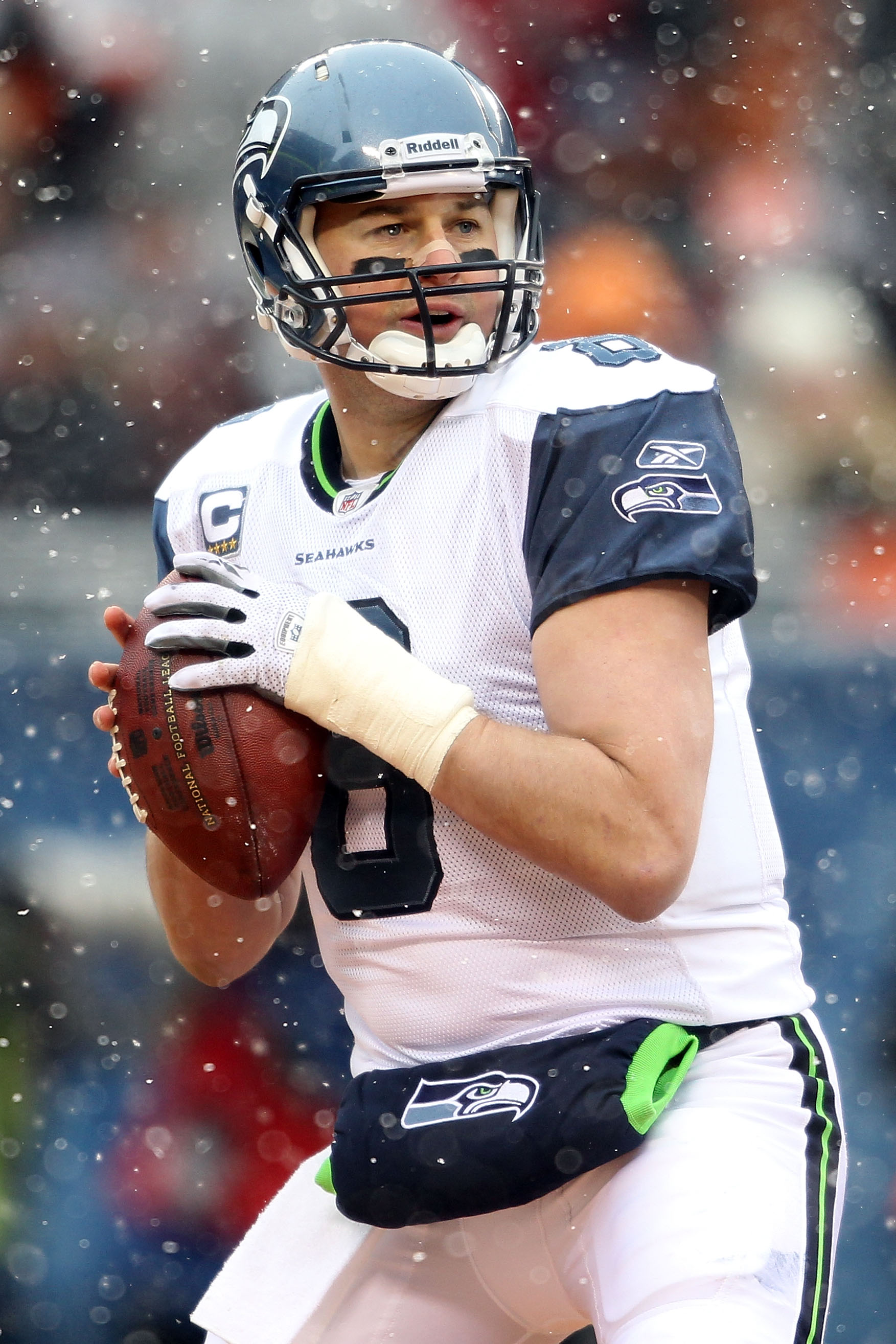Matt Hasselback has been a Seattle Seahawk most his career, and that shouldn't change even with his expiring contract.