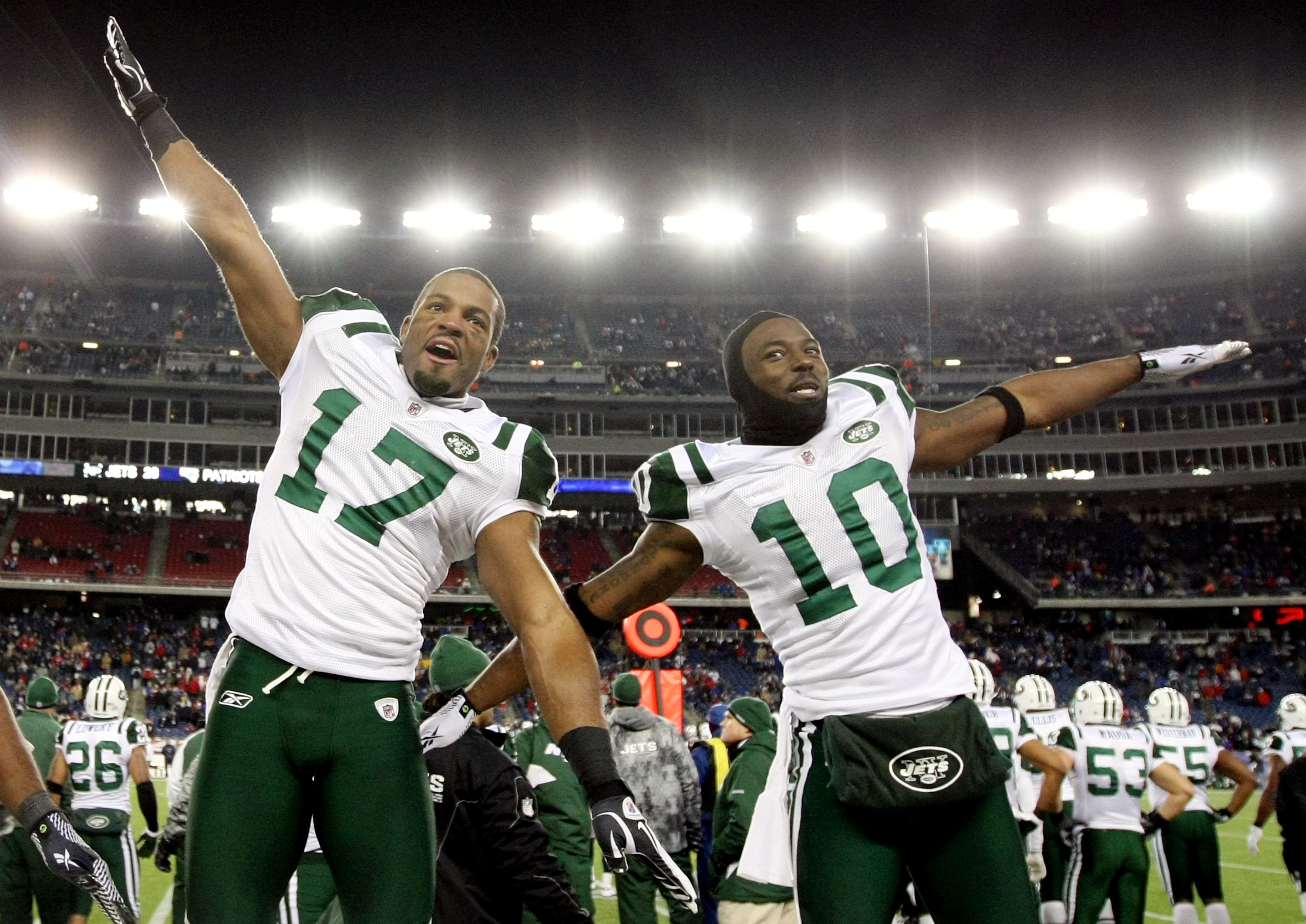 The Jets Finally Found Success at Wide Receiver, Acquiring Braylon Edwards And Santonio Holmes via Trade the Past Two Seasons. Now They're Both Free Agents.