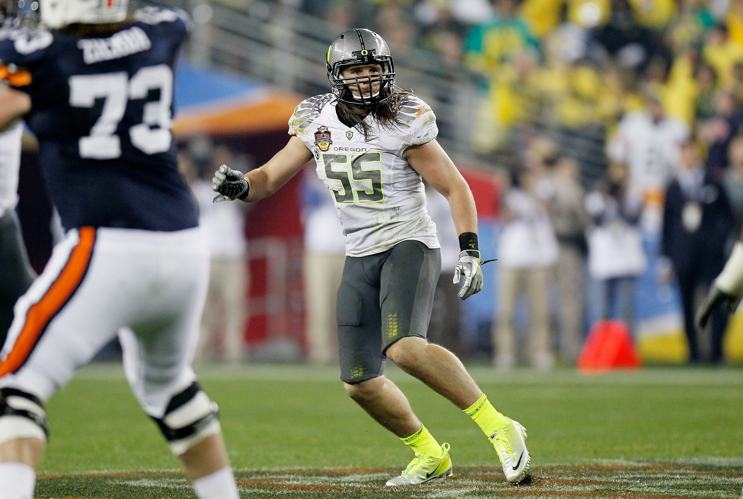 Casey Matthews needs to prove to scouts he can be everything and more that his brother is
