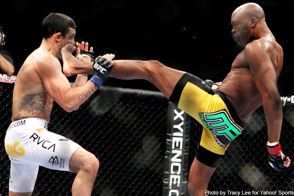 Anderson Silva's Front Kick Video and the Top 20 Signature Moves in MMA History | Bleacher Report | Latest News, Videos and Highlights