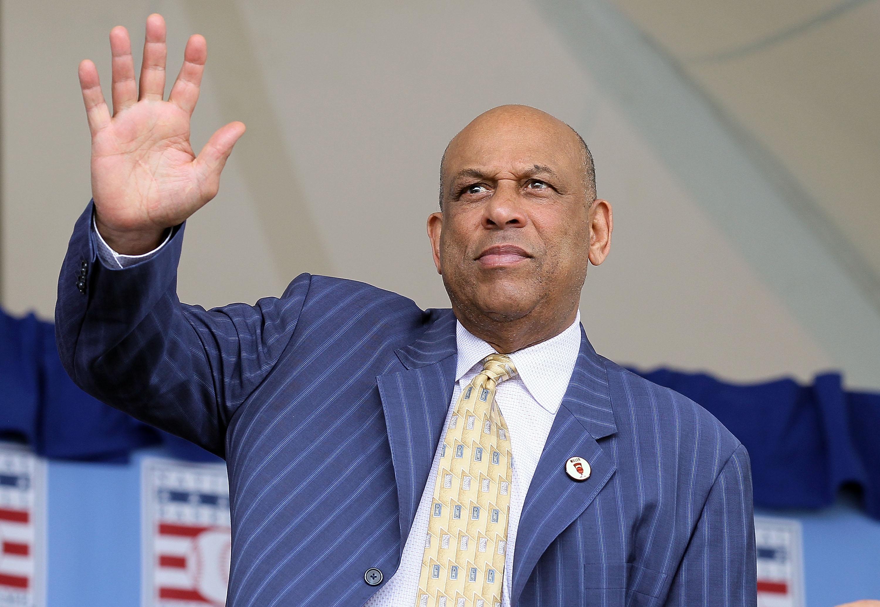 COOPERSTOWN, NY - JULY 25:  Hall of Famer Orlando Cepeda attends the Baseball Hall of Fame induction ceremony at Clark Sports Center on July 25, 20010 in Cooperstown, New York.  (Photo by Jim McIsaac/Getty Images)