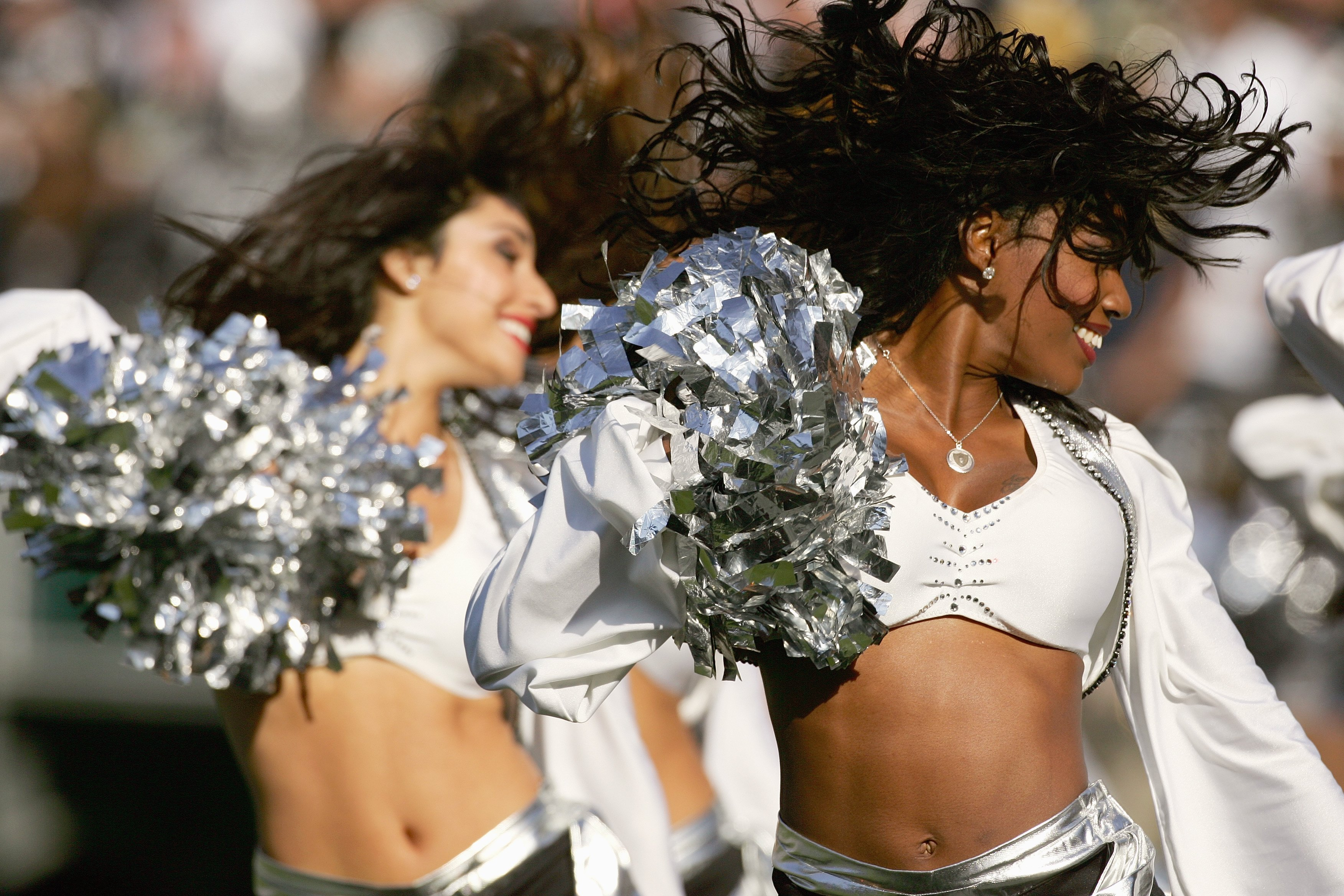 Is there anything better than beautiful ladies wearing silver and black?  I think not!