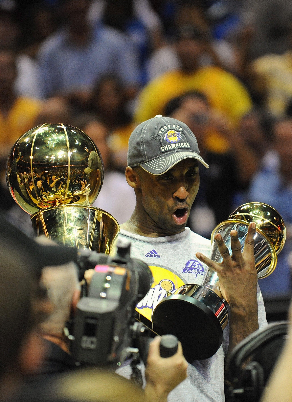d14e55f8ae4b Kobe Bryant s Trophy Case  A Look at The Black Mamba s Top Awards ...