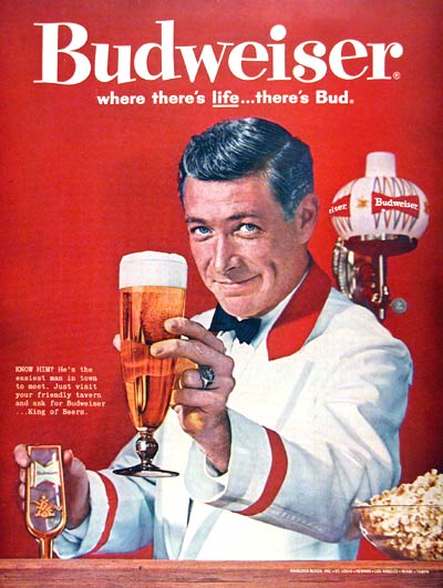 1961 Budweiser Ad