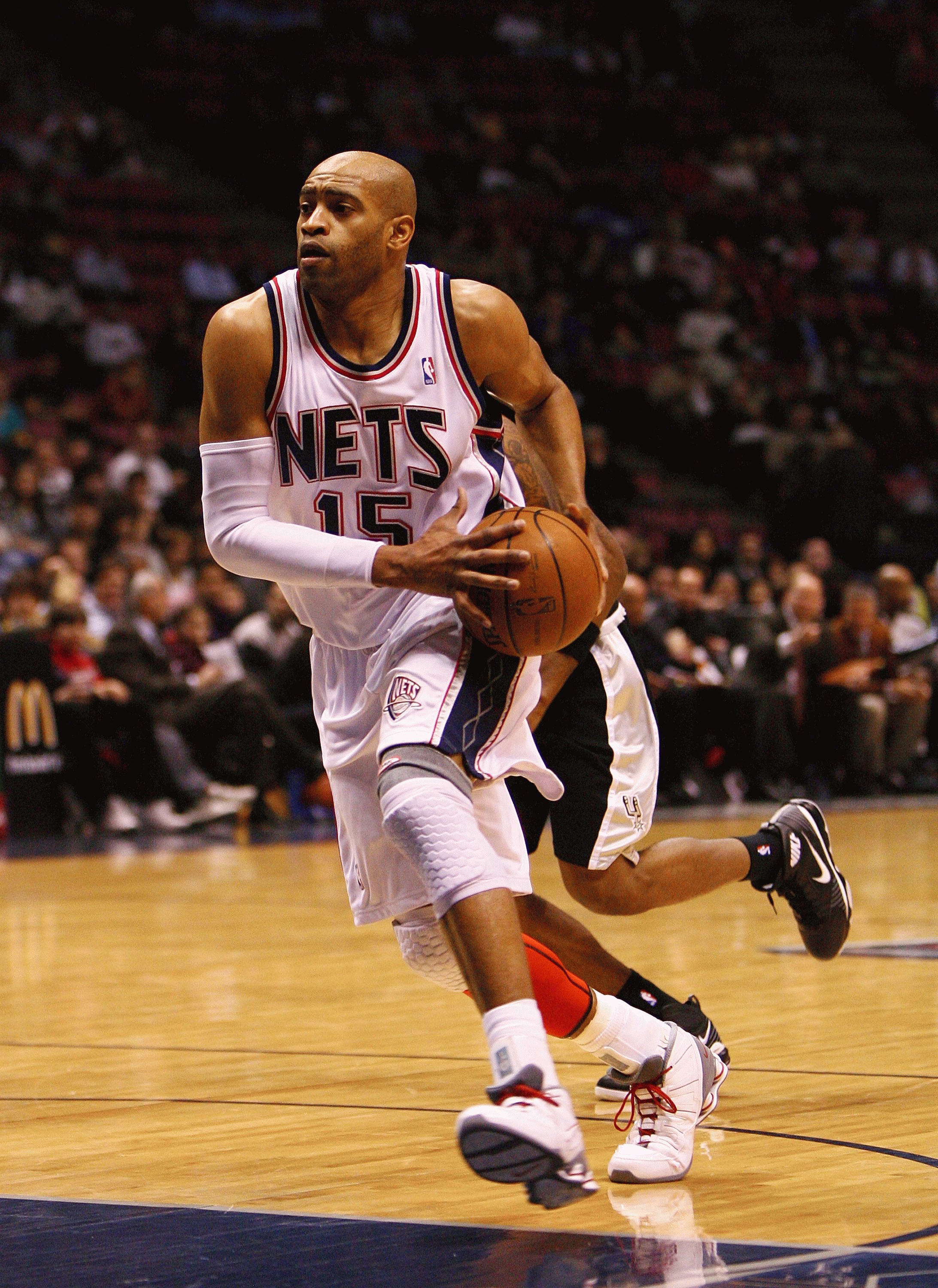 10c3994a89b EAST RUTHERFORD, NJ - FEBRUARY 10: Vince Carter #15 of the New Jersey