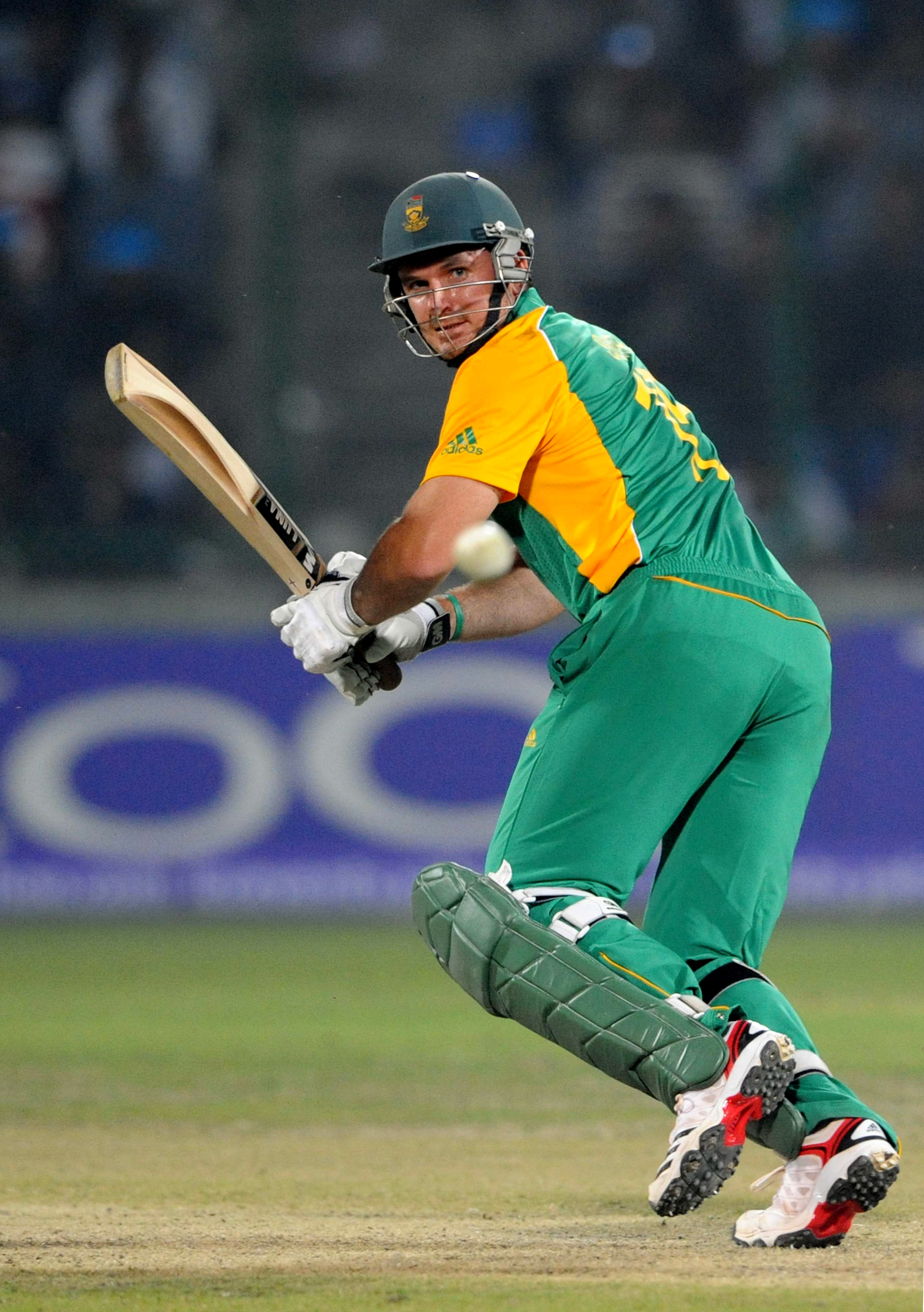 DELHI, INDIA - FEBRUARY 24:  Graeme Smith of South Africa bats during the 2011 ICC World Cup Group B match between West Indies and South Africa at Feroz Shah Kotla Stadium on February 24, 2011 in Delhi, India.  (Photo by Lee Warren/Gallo Images/Getty Imag
