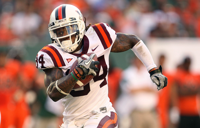 Virginia Tech RB Ryan Williams