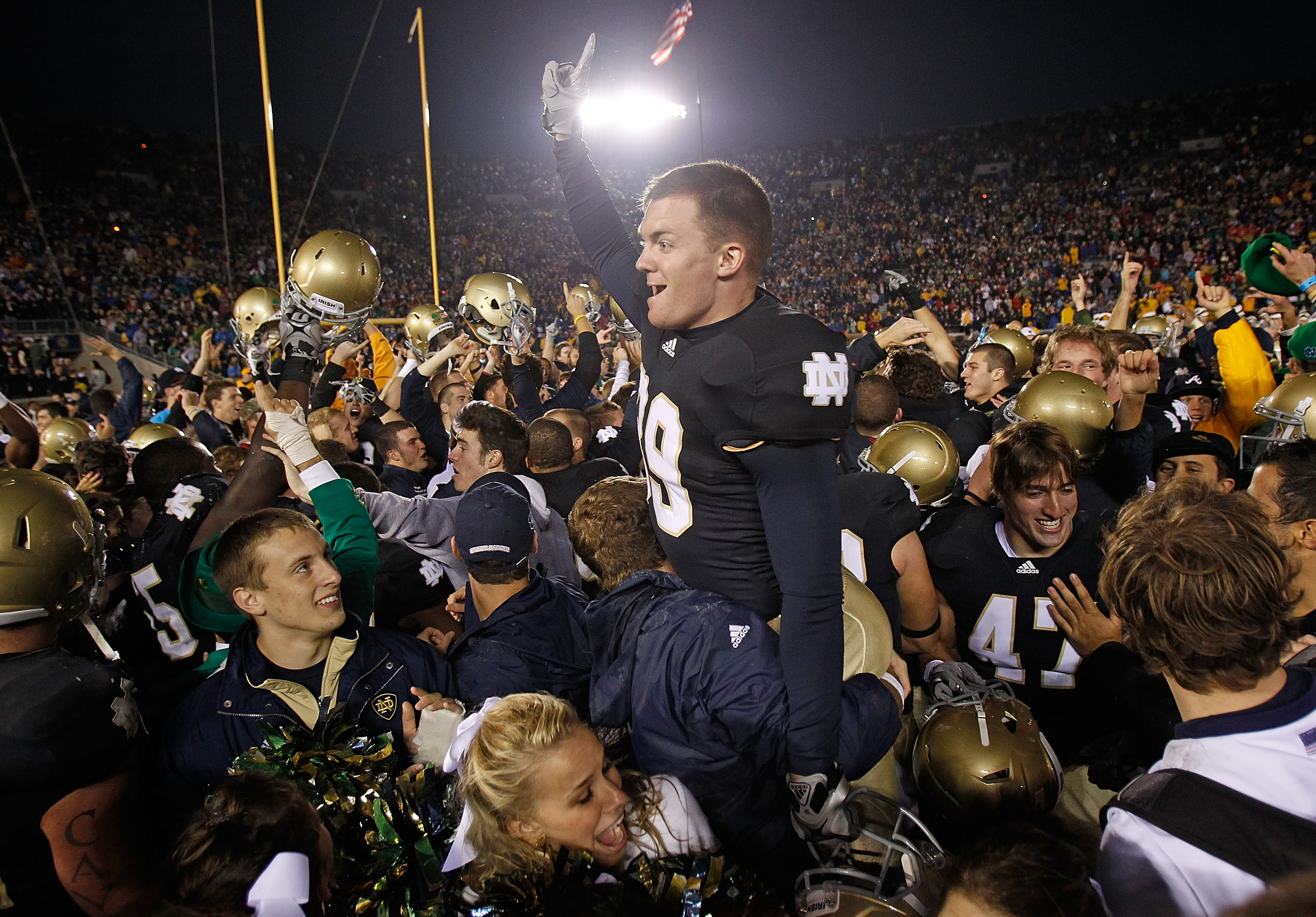 6cba1a7aff Notre Dame Football 2011  10 Reasons Why Notre Dame Will Win 10 ...