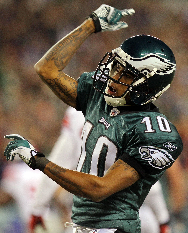 DeSean Jackson Philadelphia Eagles Black Top American Football NFL Jersey