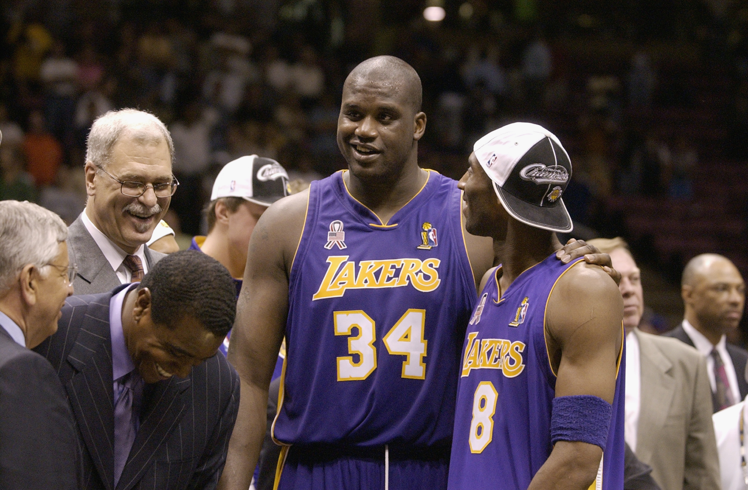 Image result for shaquille o'neal kobe bryant