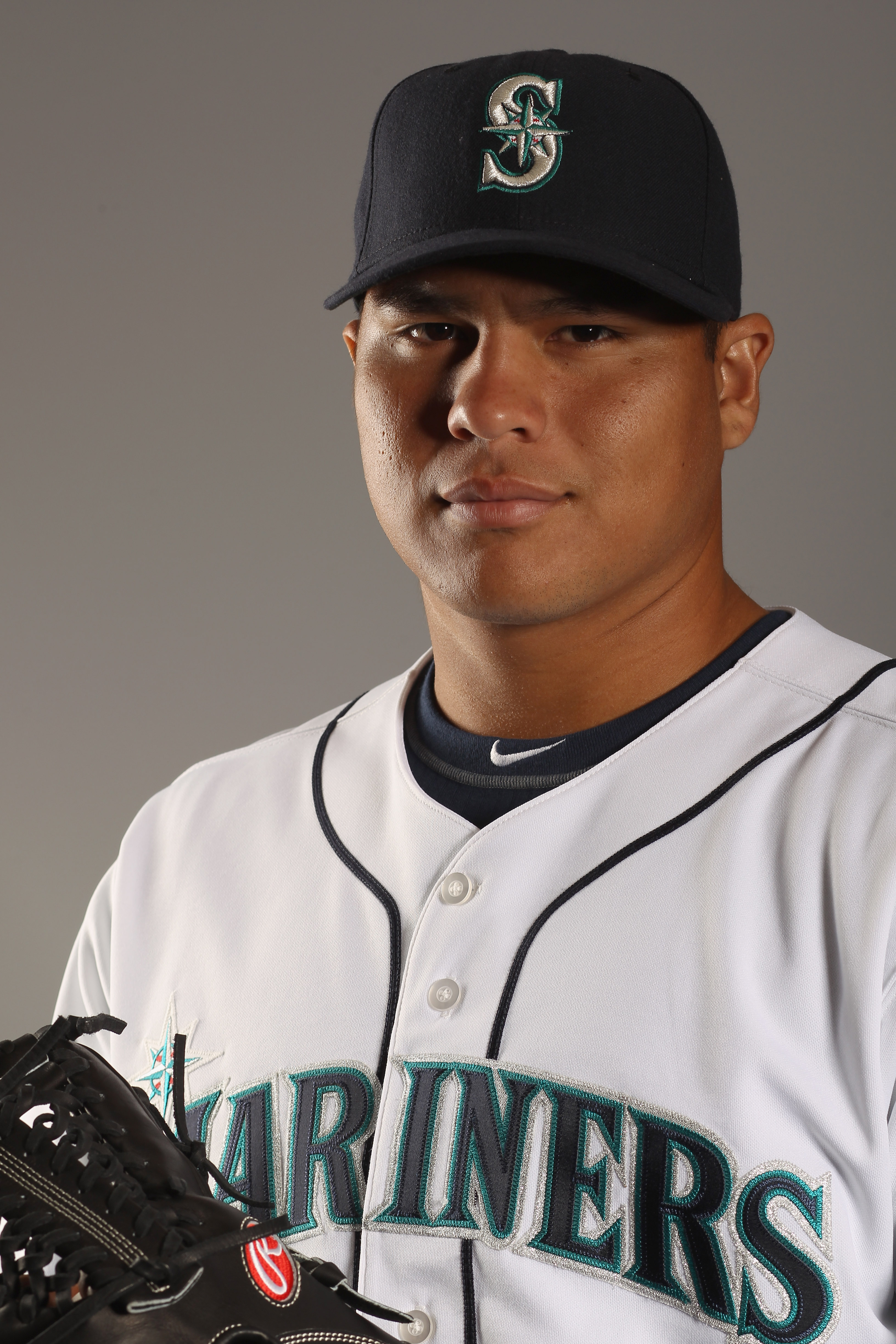 PEORIA, AZ - FEBRUARY 20:  Jose Flores #69 of the Seattle Mariners poses for a portrait at the Peoria Sports Complex on February 20, 2011 in Peoria, Arizona.  (Photo by Ezra Shaw/Getty Images)