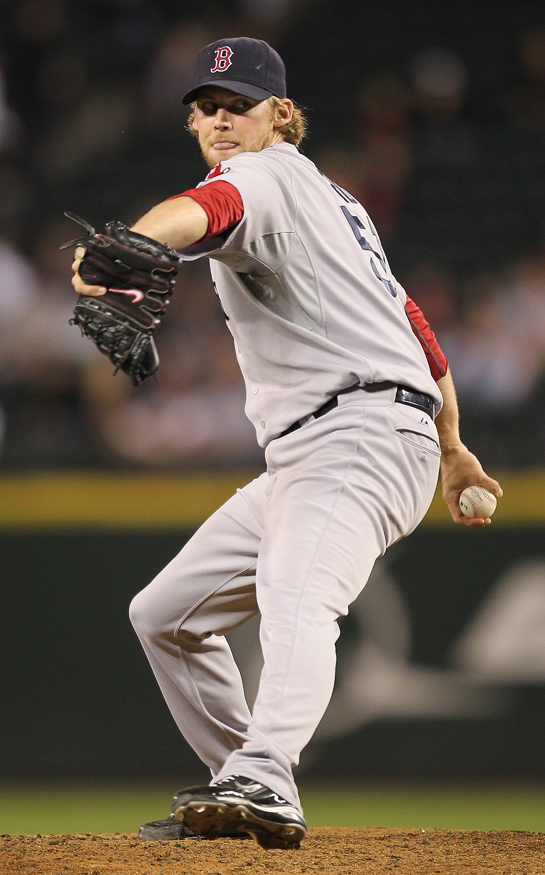 SEATTLE - SEPTEMBER 13:  Daniel Bard #51 of the Boston Red Sox pitches in the ninth inning against the Seattle Mariners at Safeco Field on September 13, 2010 in Seattle, Washington. The Red Sox defeated the Mariners 5-1. (Photo by Otto Greule Jr/Getty Ima