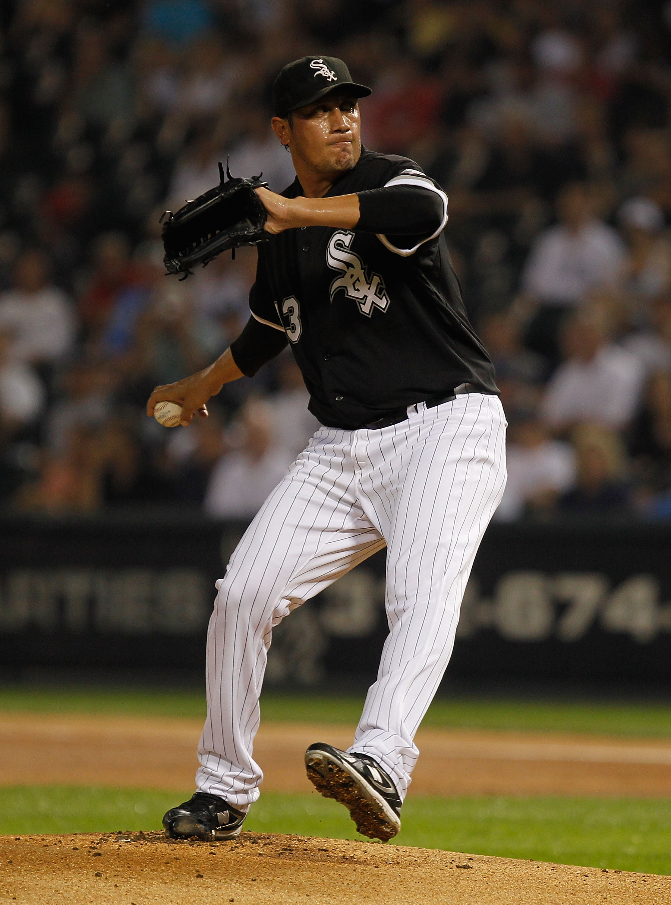 With so many rotation questions, the Yanks may have to rely on former White Sox Garcia.