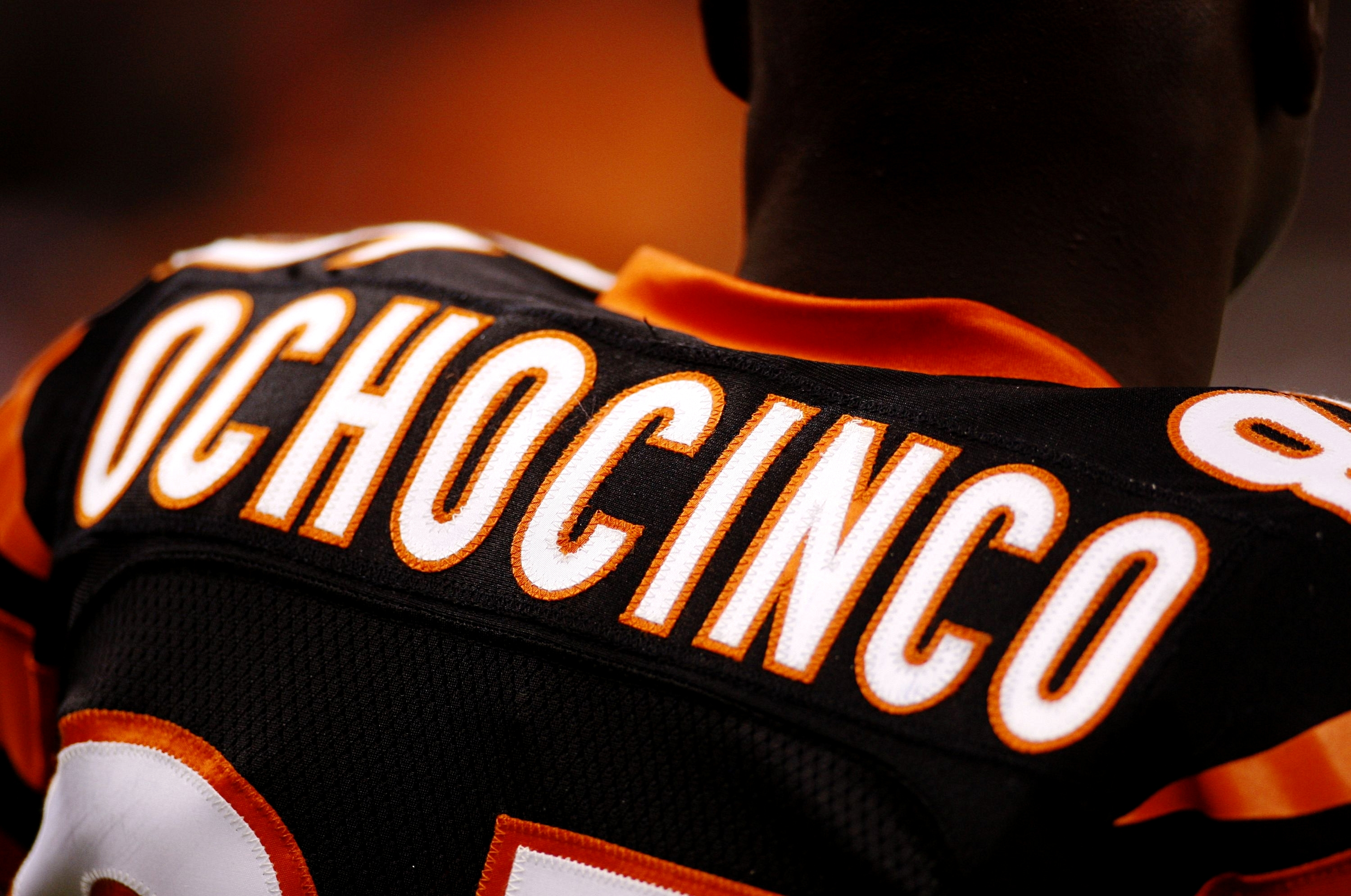 NEW ORLEANS - AUGUST 14:  Wide receiver Chad Ochocinco #85 of the Cincinnati Bengals is shown during a preseason game against the New Orleans Saints on August 14, 2009 at the Superdome in New Orleans, Louisiana. (Photo by Chris Graythen/Getty Images)