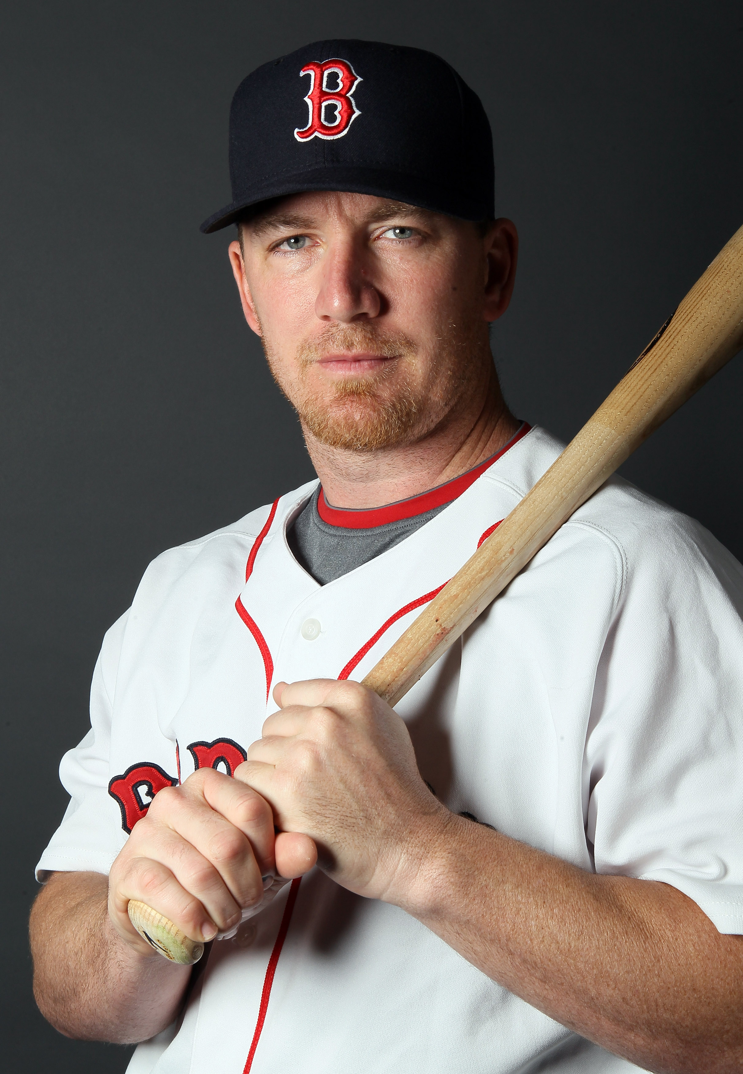 FT. MYERS, FL - FEBRUARY 20:  J.D. Drew #7 of the Boston Red Sox poses for a portrait during the Boston Red Sox Photo Day on February 20, 2011 at the Boston Red Sox Player Development Complex in Ft. Myers, Florida  (Photo by Elsa/Getty Images)